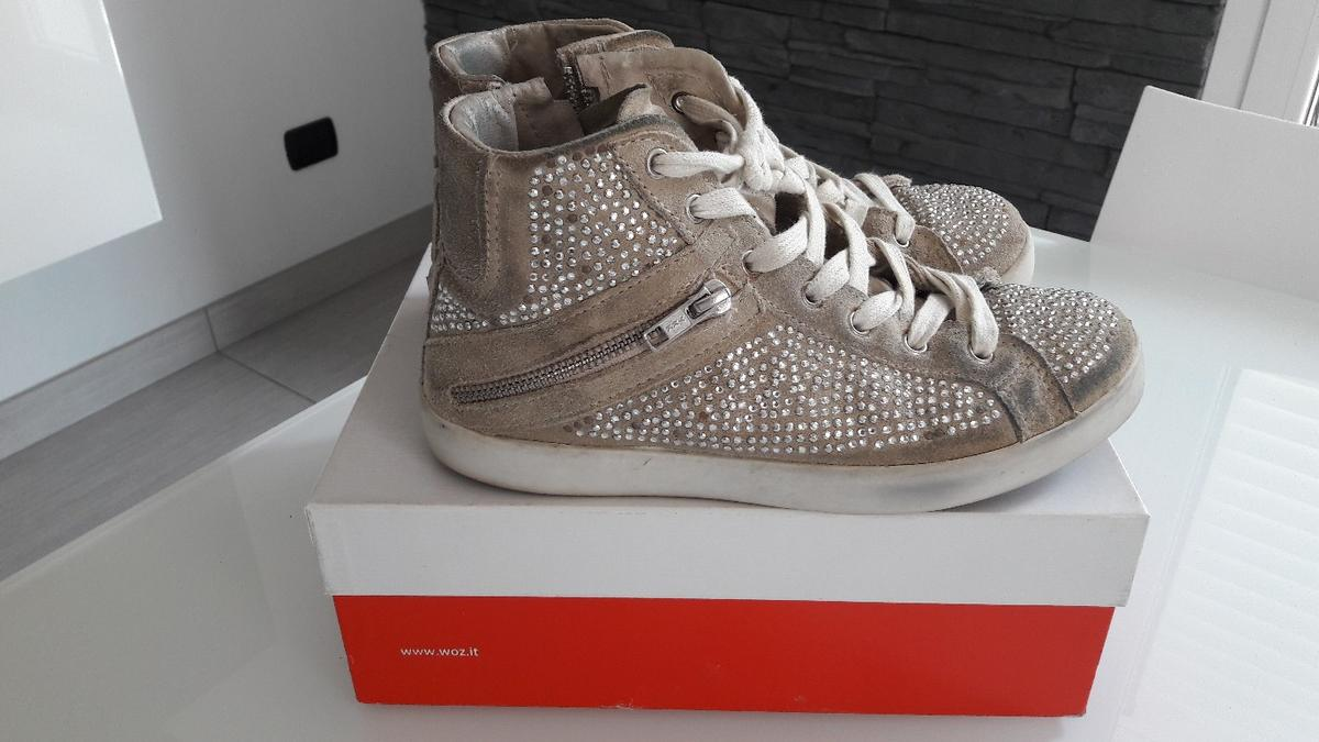 low priced 66d72 c7d0a Scarpe sneakers con strass