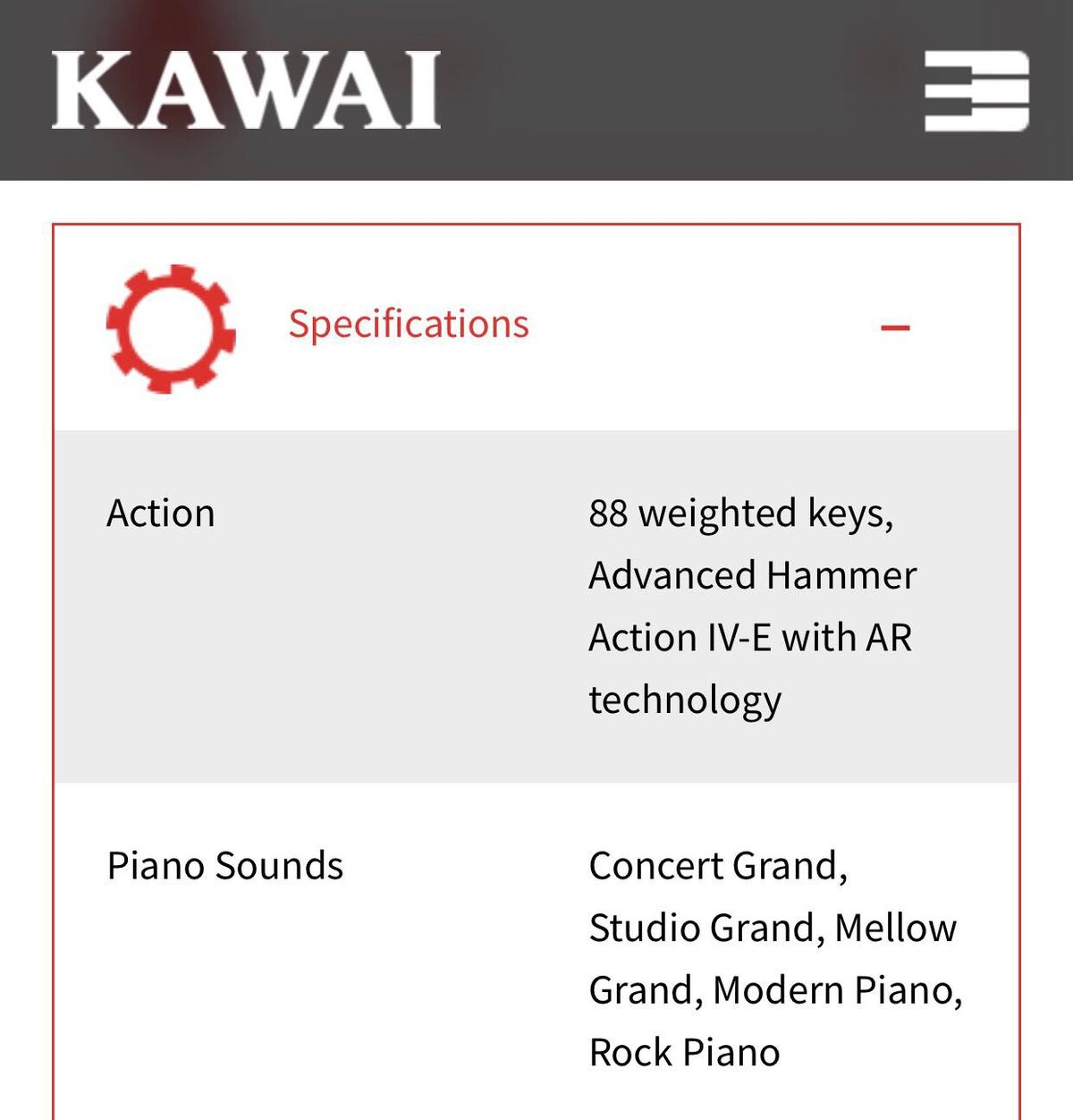 Kawai CN31 electric piano in NP12 Oakdale for £400 00 for sale - Shpock