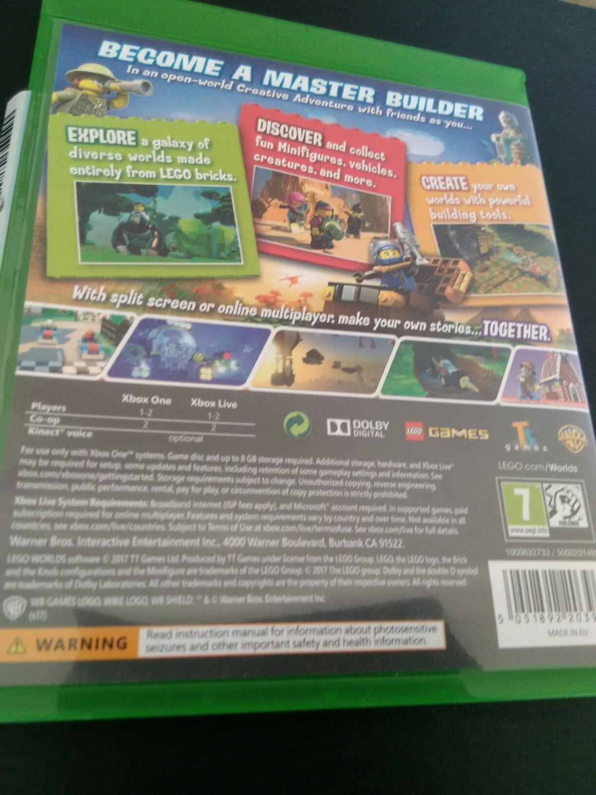 Lego World Xbox One Game In Ch46 Wirral For 1200 For Sale Shpock