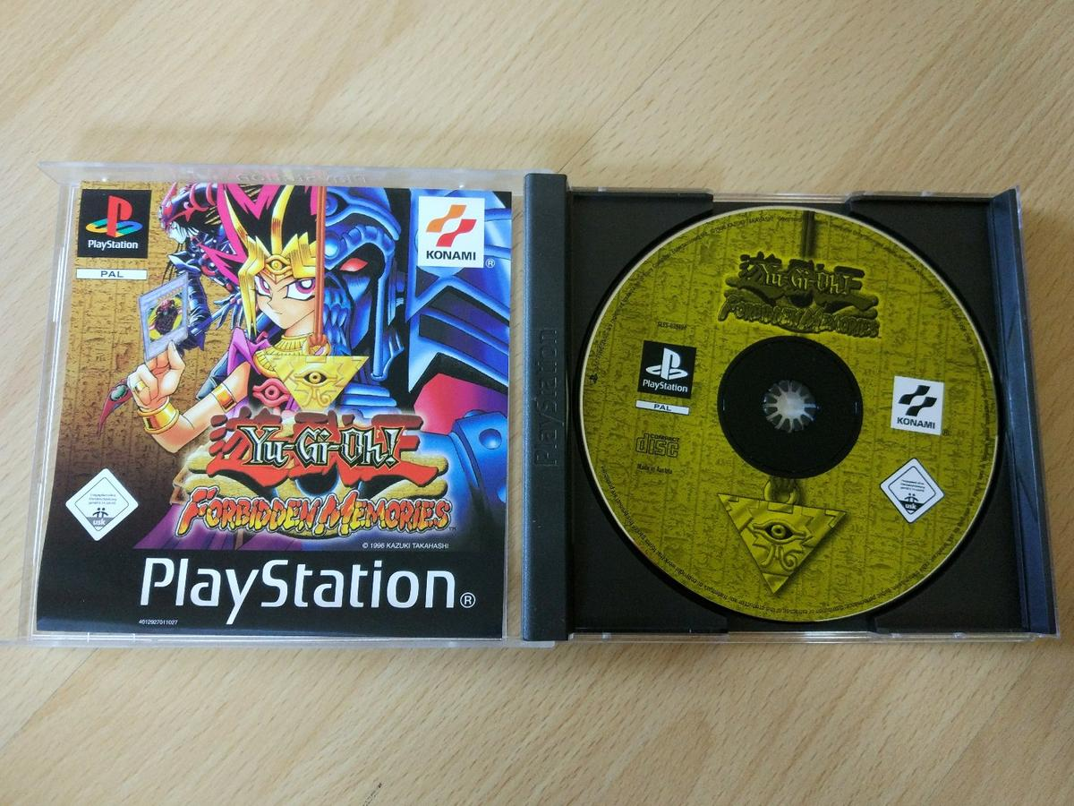 Yu Gi Oh Forbidden Memories Playstation 1 In 81671