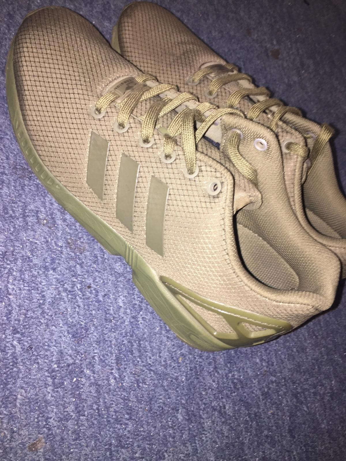 6d1a3010a4bea Khaki Adidas ZX Fluxes in SE21 Southwark for £35.00 for sale - Shpock