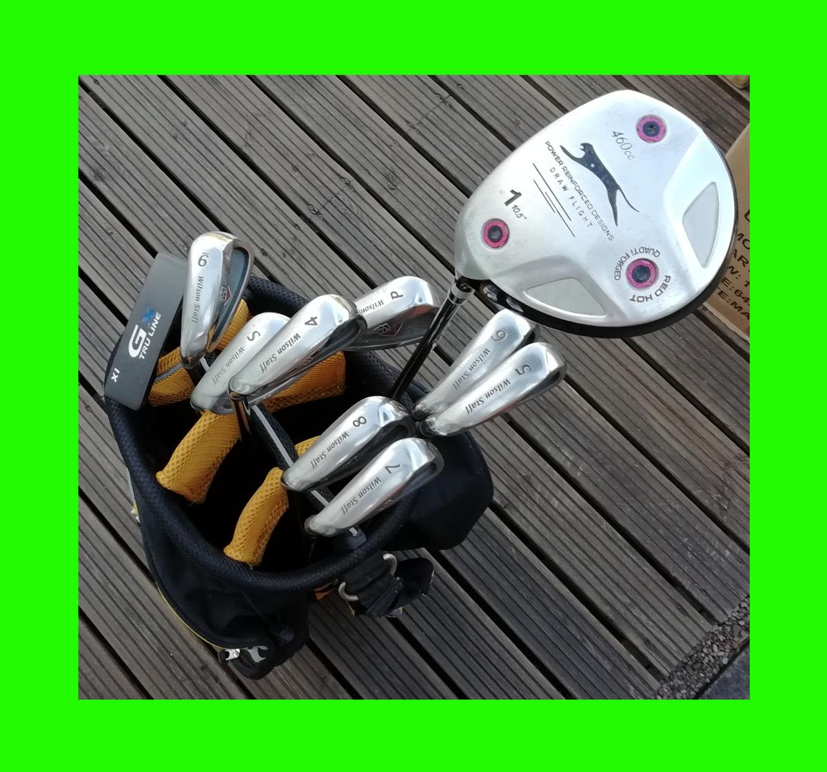 Left Handed Golf Clubs & Bag - Barely Used in CV3 Coventry for