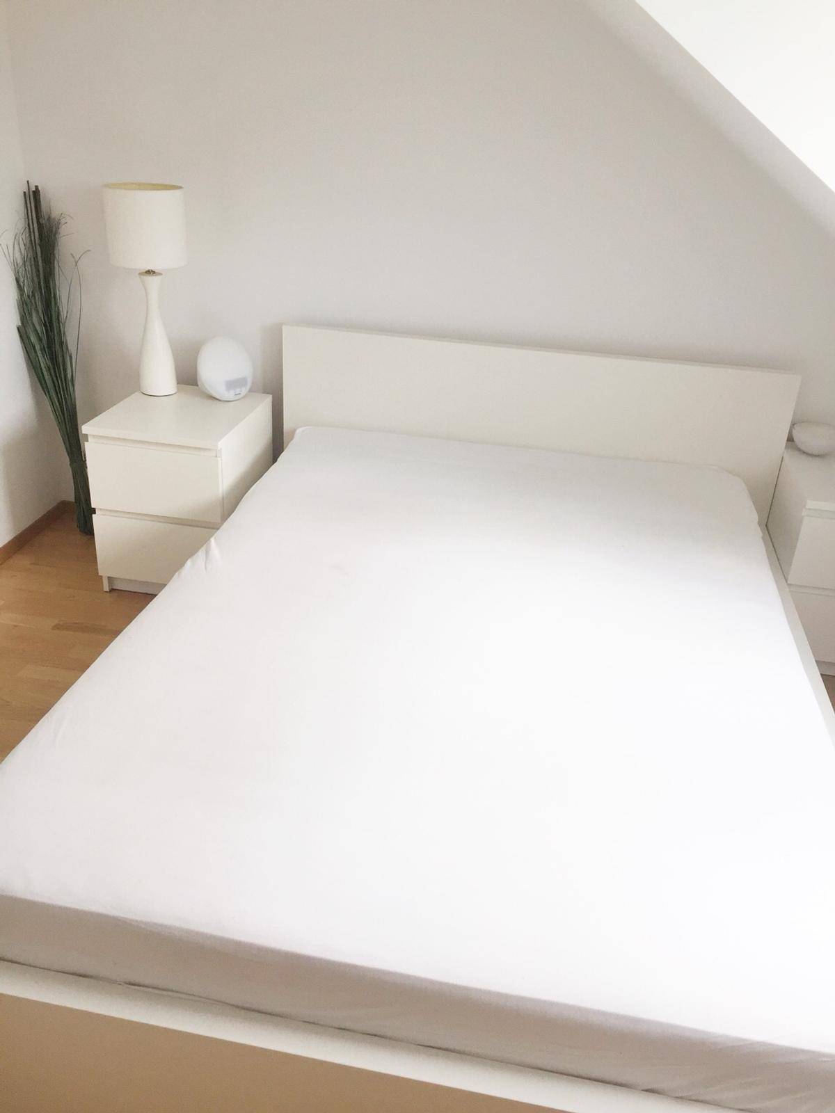 Ikea Malm Bettgestell Weiss Federlattenrost In 80539 Munchen For 50 00 For Sale Shpock