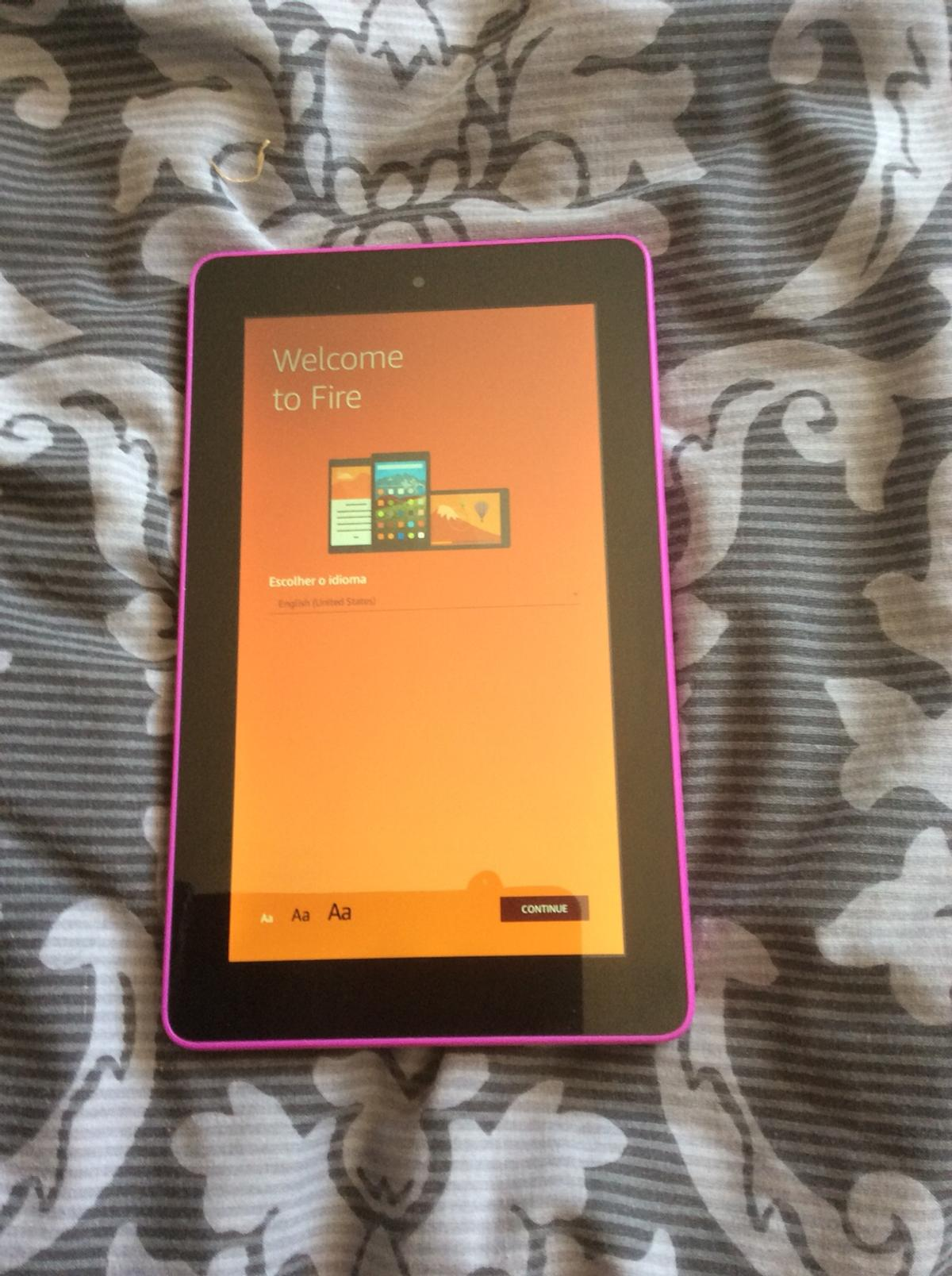 Amazon kindle fire 5th generation tablet