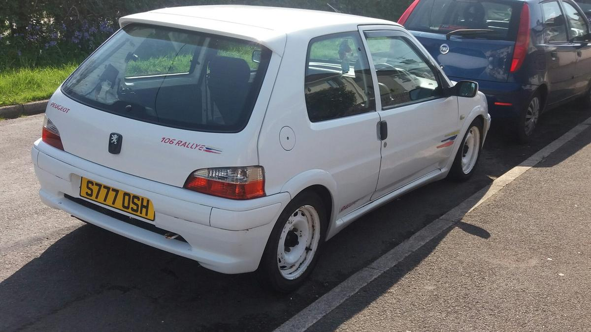 Peugeot 106 s2 rallye in RG30 Burghfield for £1,500 00 for