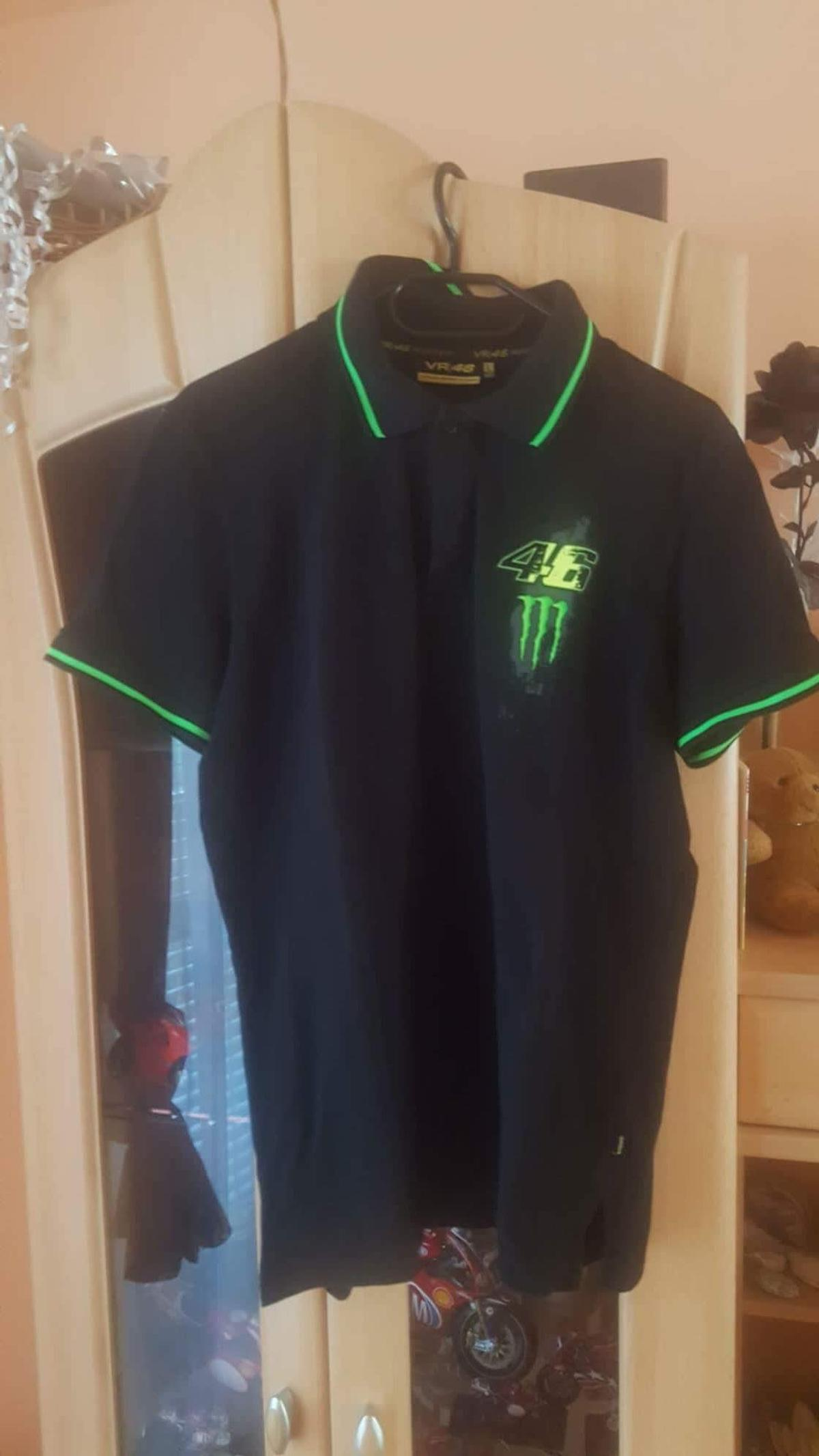 Valentino Rossi Vr46 Monster Polo Shirt In 8510 Stainz For 15 00