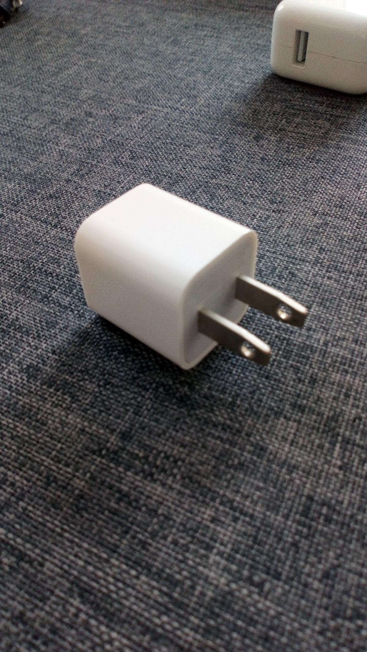 Apple iphone abroad charging AC plug adapter