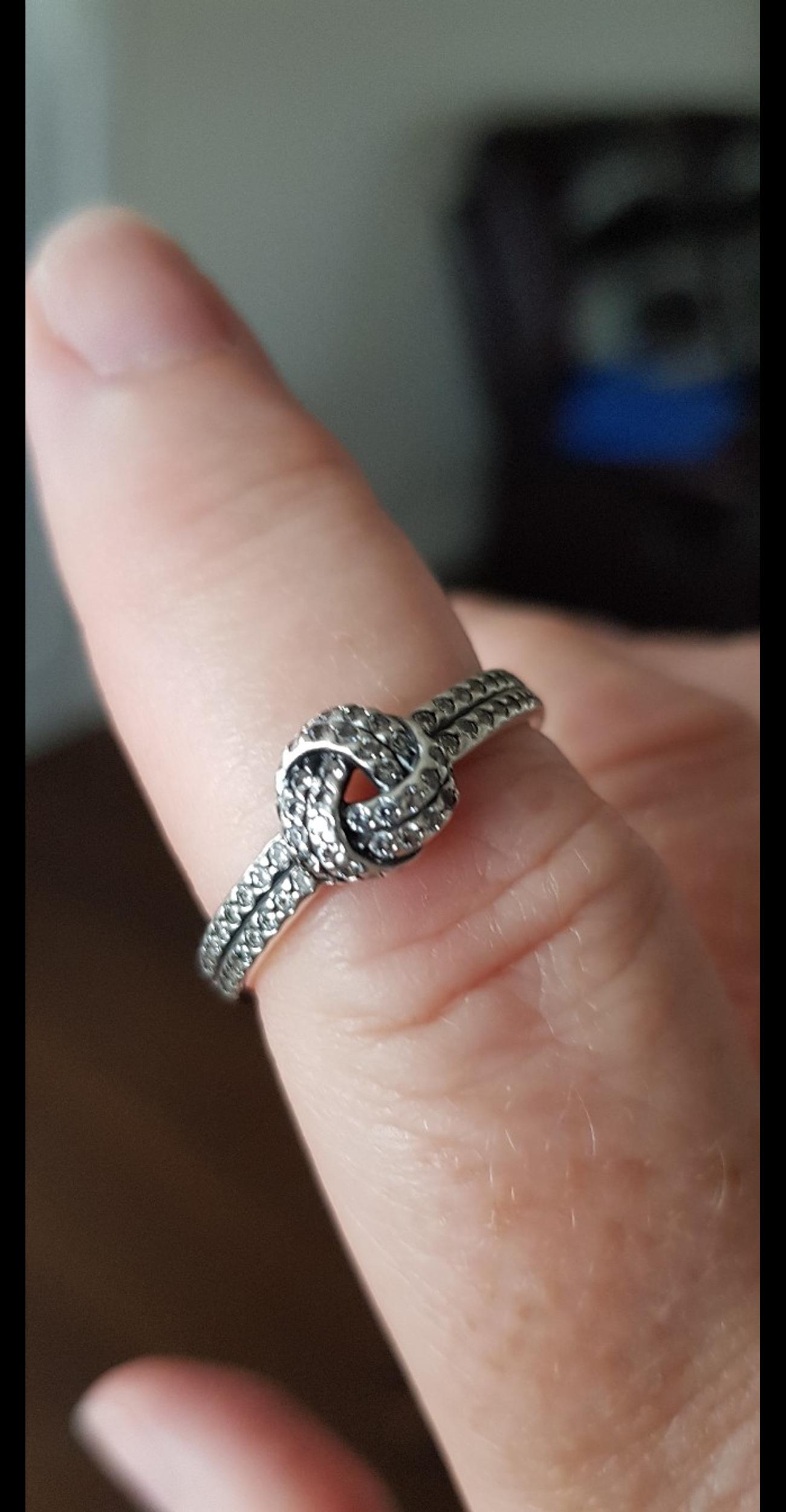 Pandora Love Knot Ring Size 60 In Bd17 Bradford For 35 00 For Sale Shpock