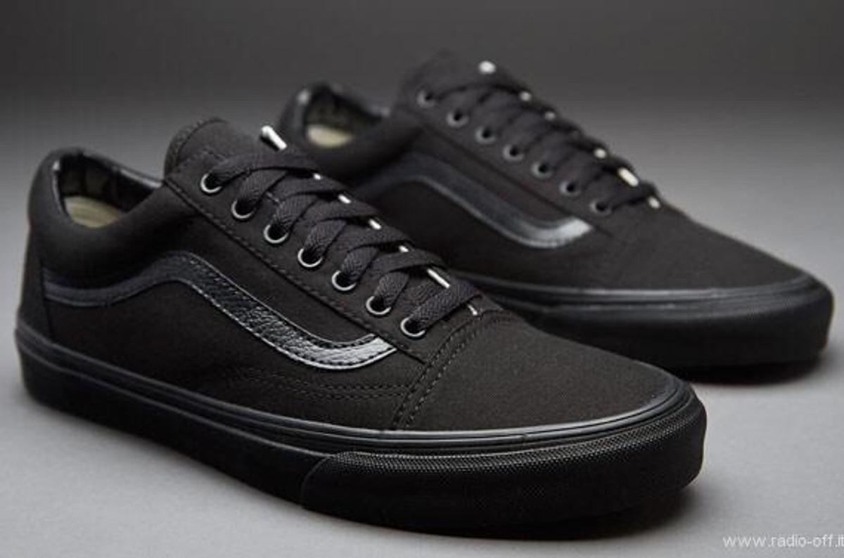 check out ad482 efb1a VANS NERE OLD SKOOL 42.5