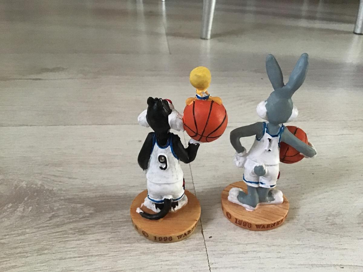 Looney Tunes Bugs Bunny Lamp Ornament Set Of 2 NEW