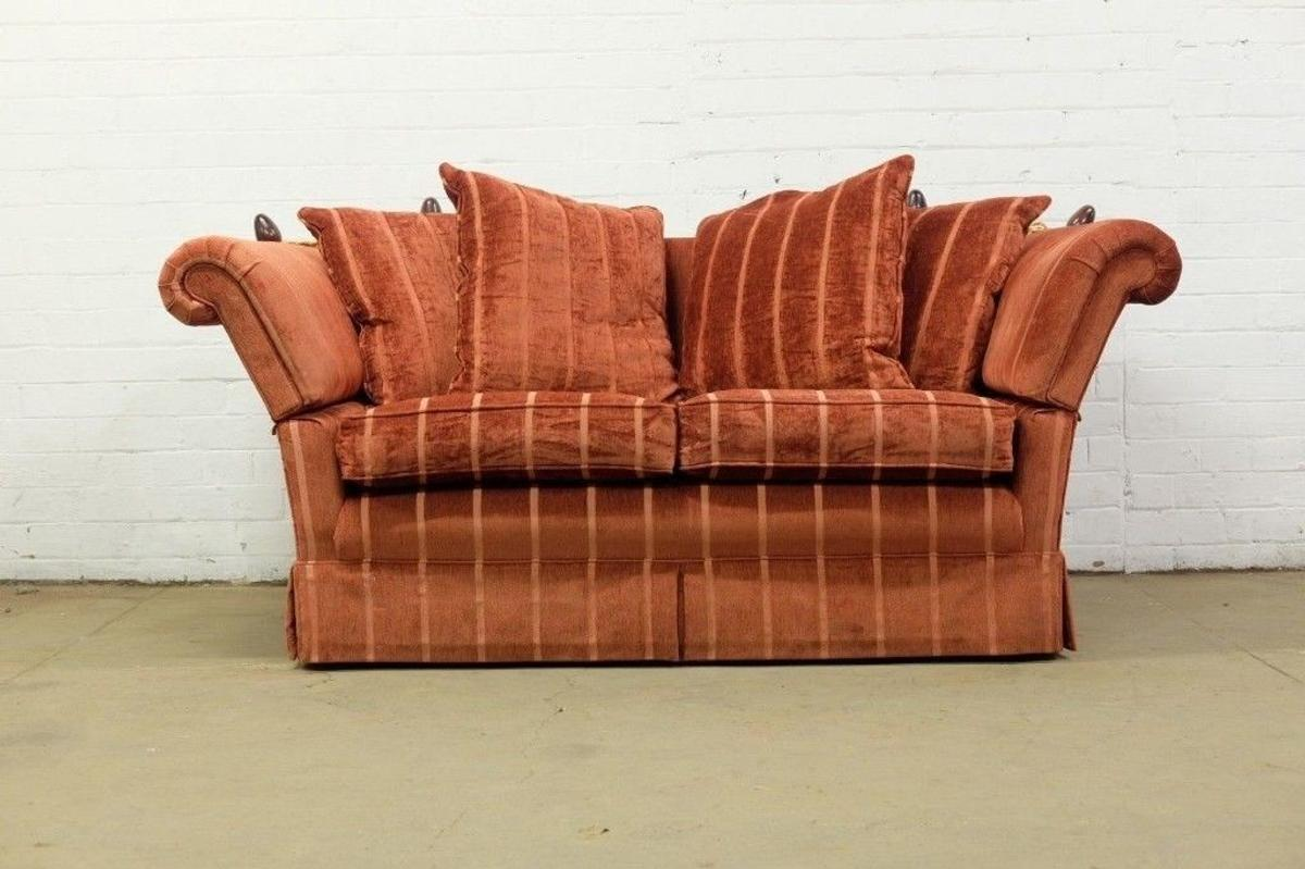 KNOLE DROP ARM TWO SEATER SOFA IN RED in S62 Rotherham für ...