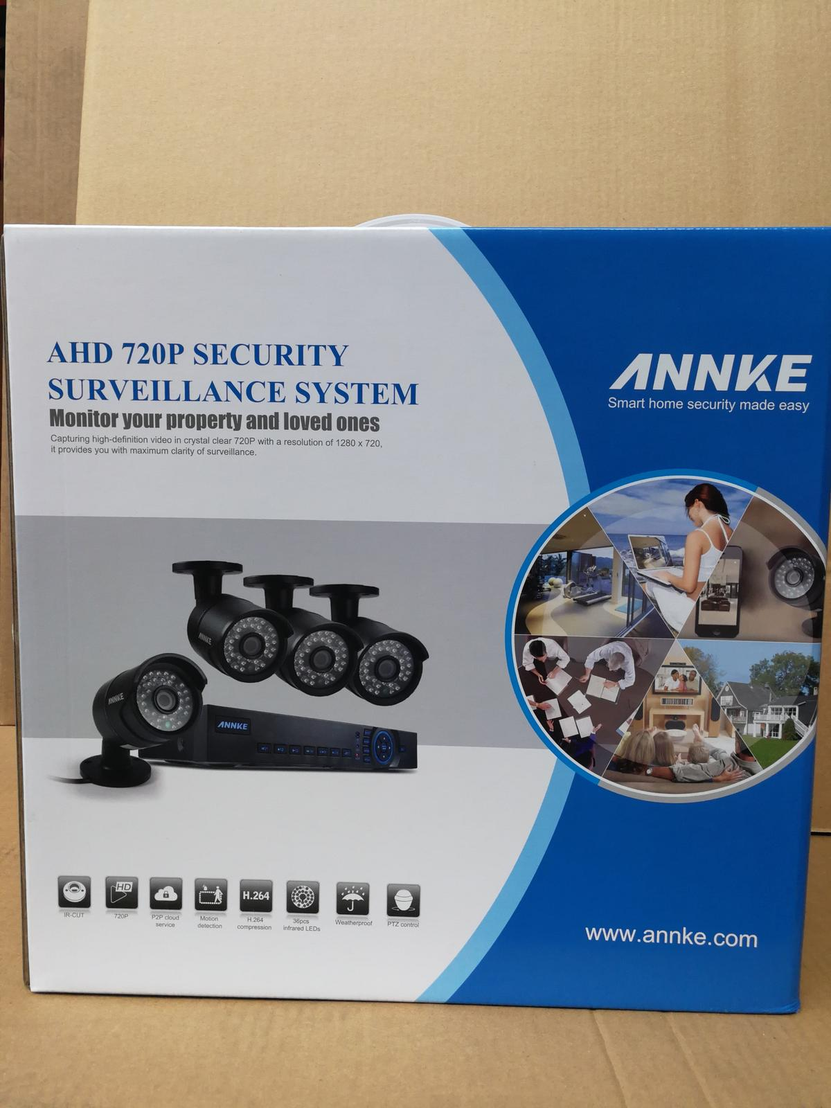 Annke HD 4 Channel CCTV with 1TB Harddrive