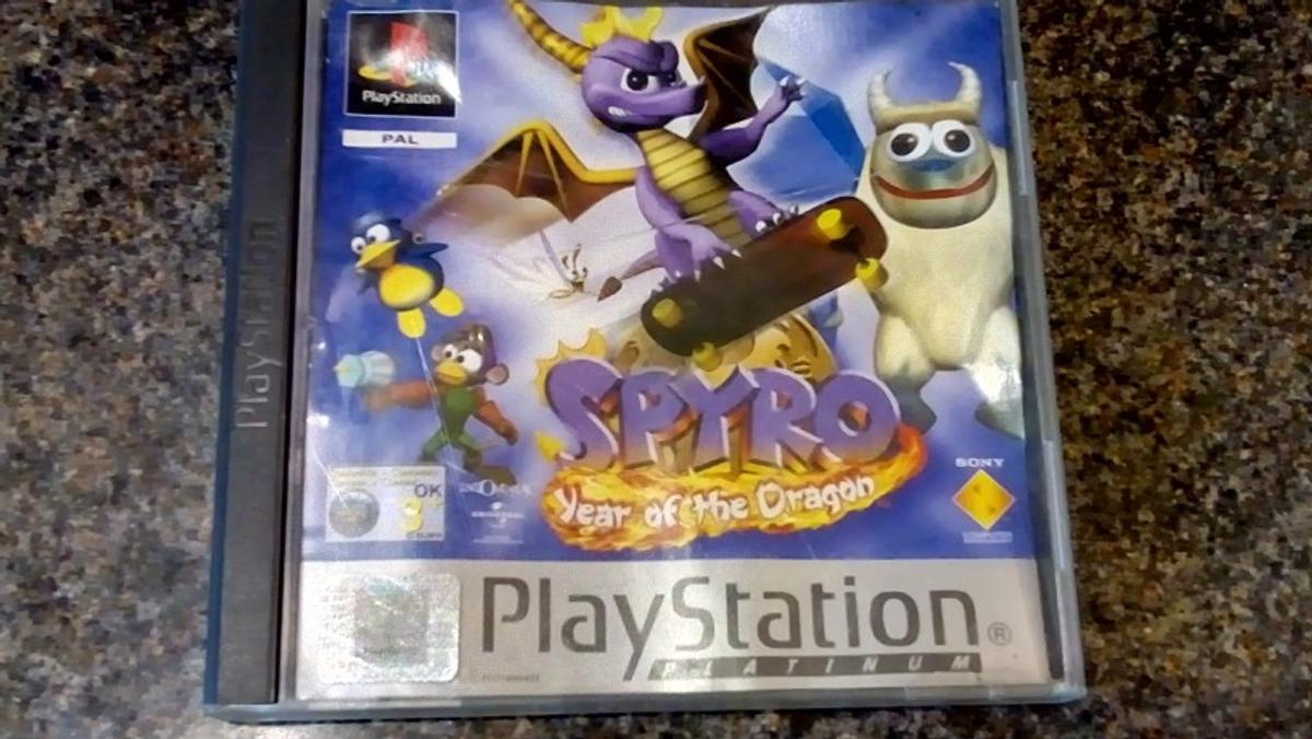 spyro games for ps1