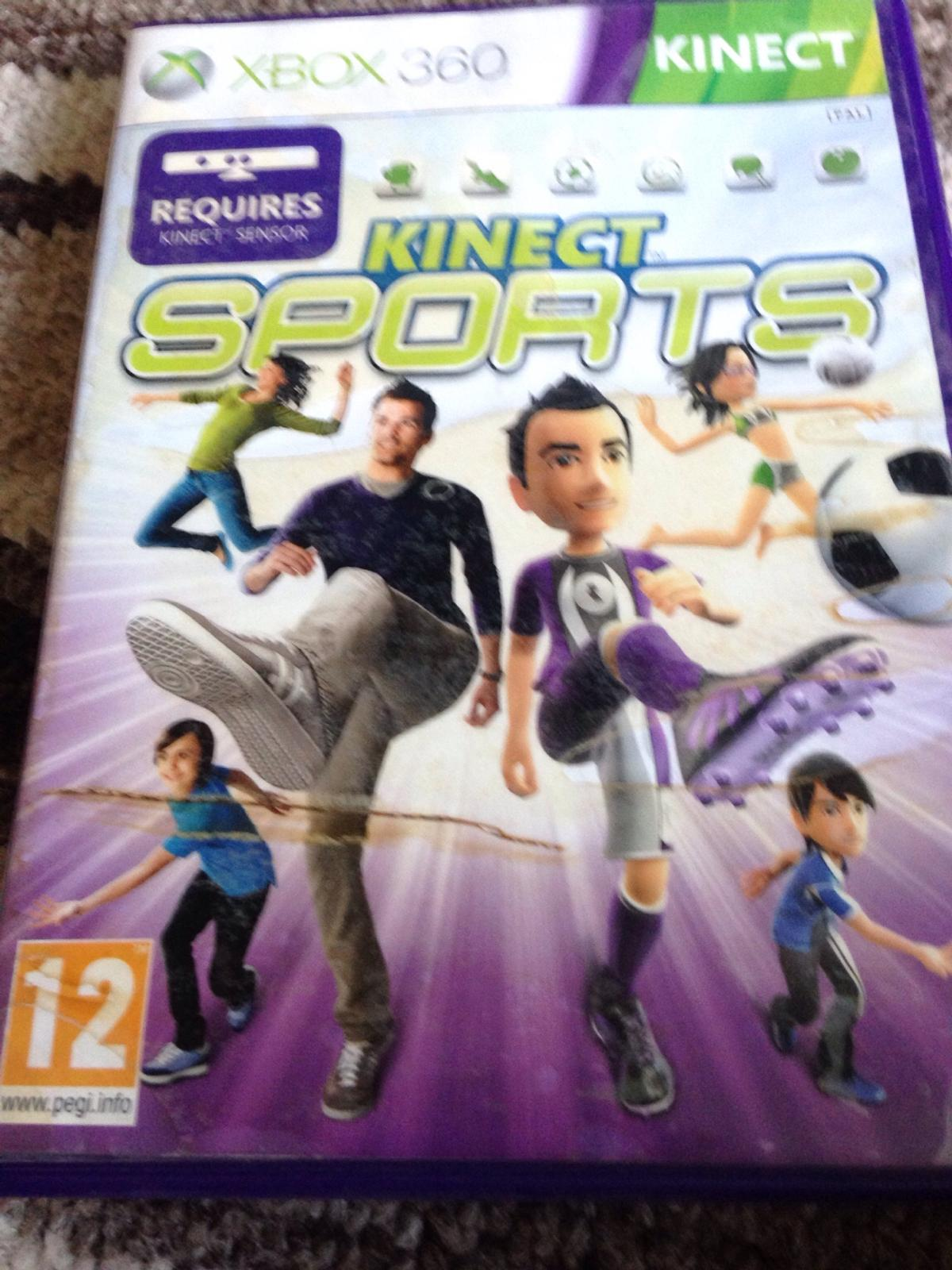 Bundle of Xbox 360 Kinect games in ST13 Moorlands for £15 00