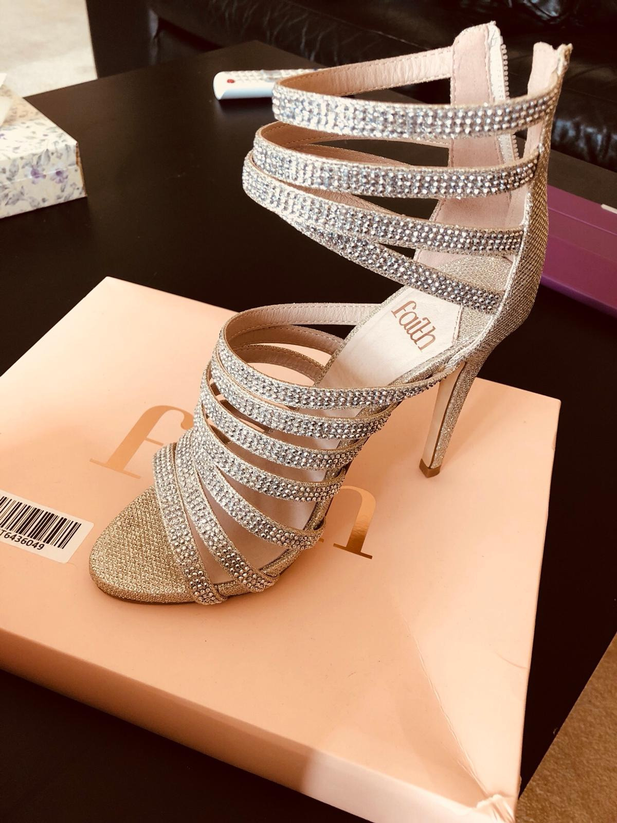 eefd19fe912 Faith silver heeled sandals in HP3 Dacorum for £20.00 for sale - Shpock