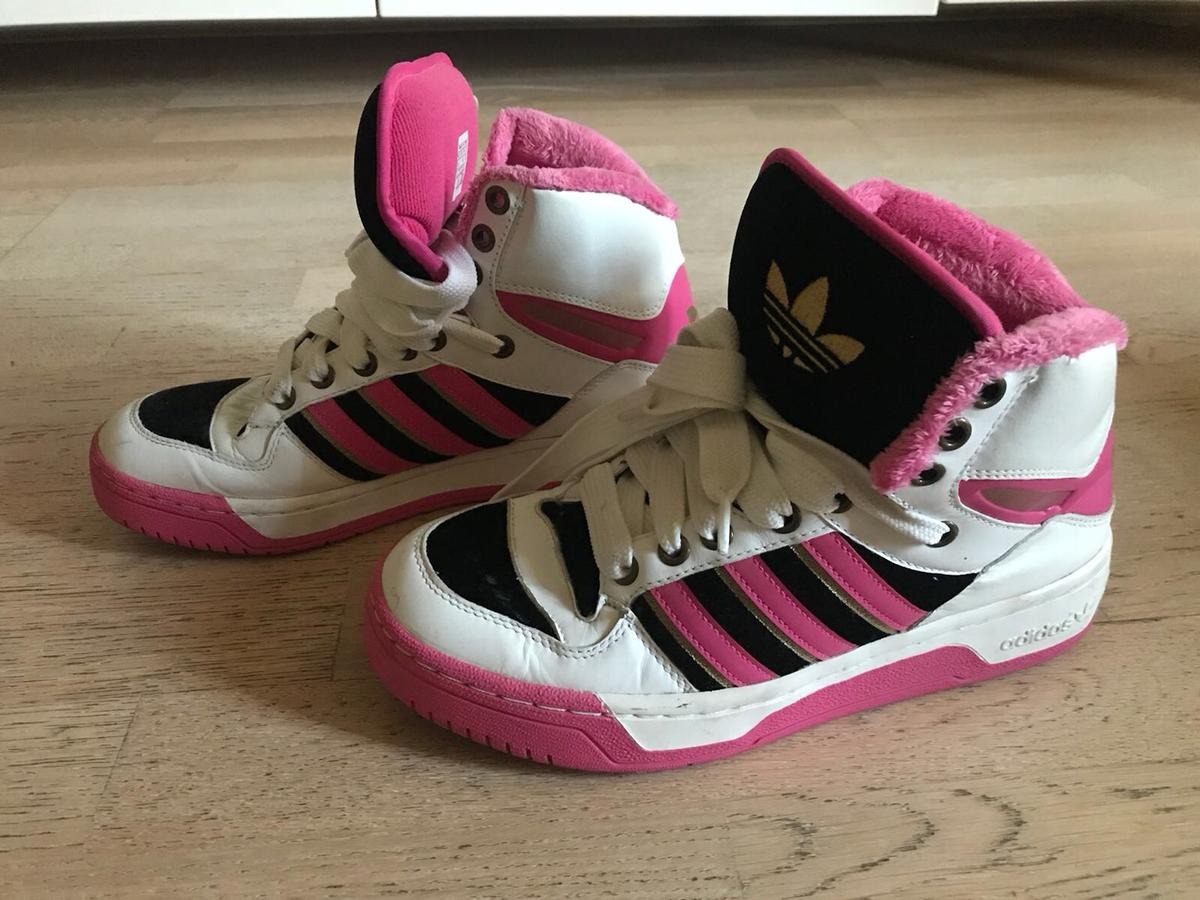 hot sales elegant shoes exclusive deals Missy Elliot Adidas Limited High Top Trainers in SE1 ...