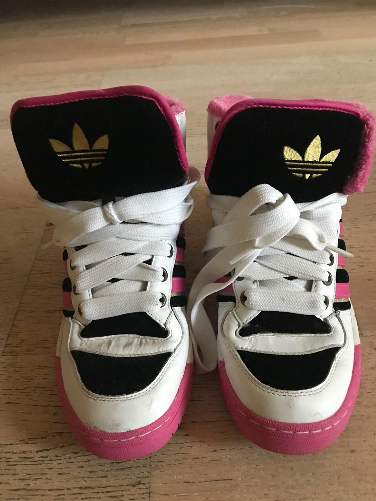 Missy Elliot for ADIDAS knee high shell toes