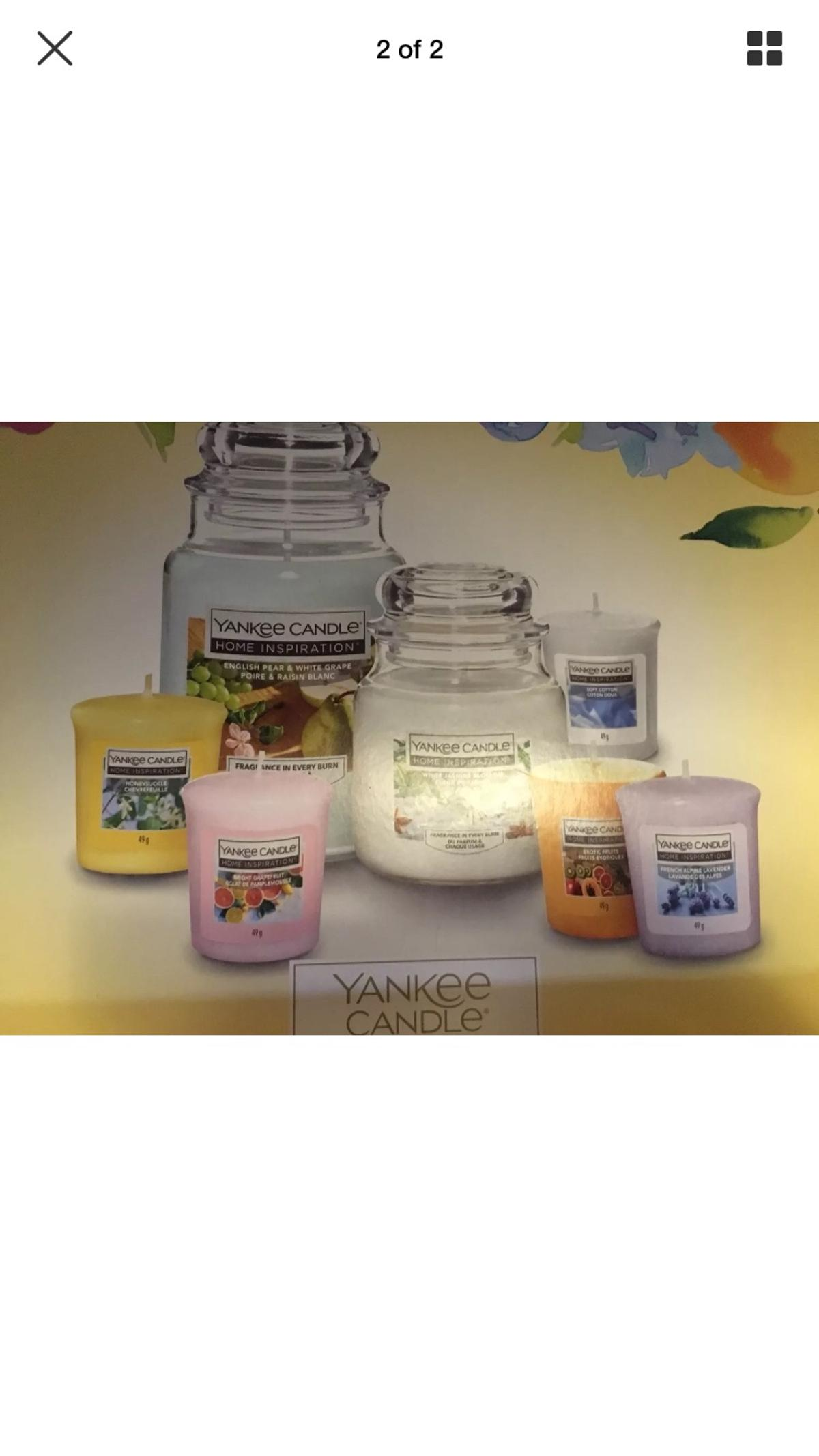 Yankee Candle Gift Set Of 7 In Total BNIB M34 Tameside For 2500