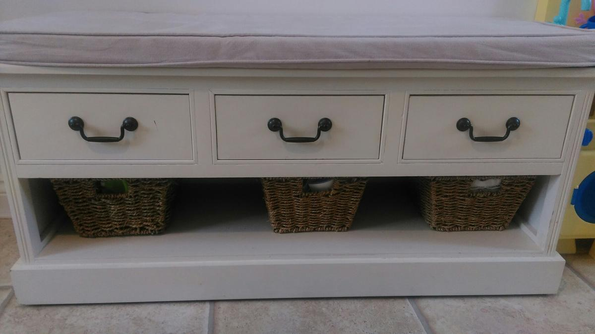 Picture of: Solid Wood Dunelm Storage Bench Seat Hall In Colchester For 60 00 For Sale Shpock