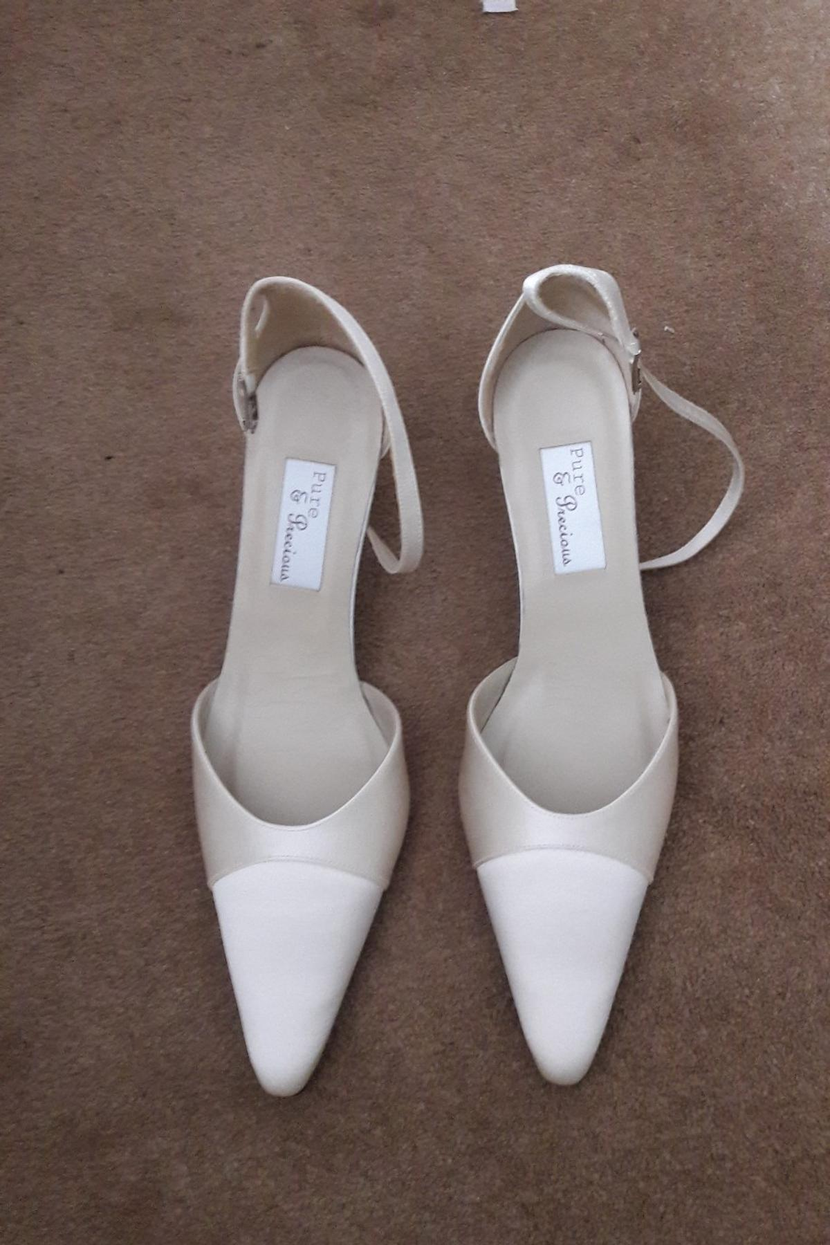 Wedding Shoes Ivory In London Borough Of Havering For 10 00 For Sale Shpock