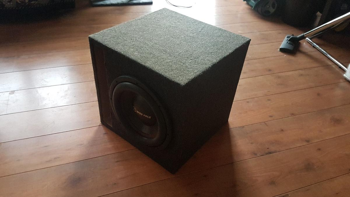 BassFace 12 2 Car Subwoofer Sub in London Borough of