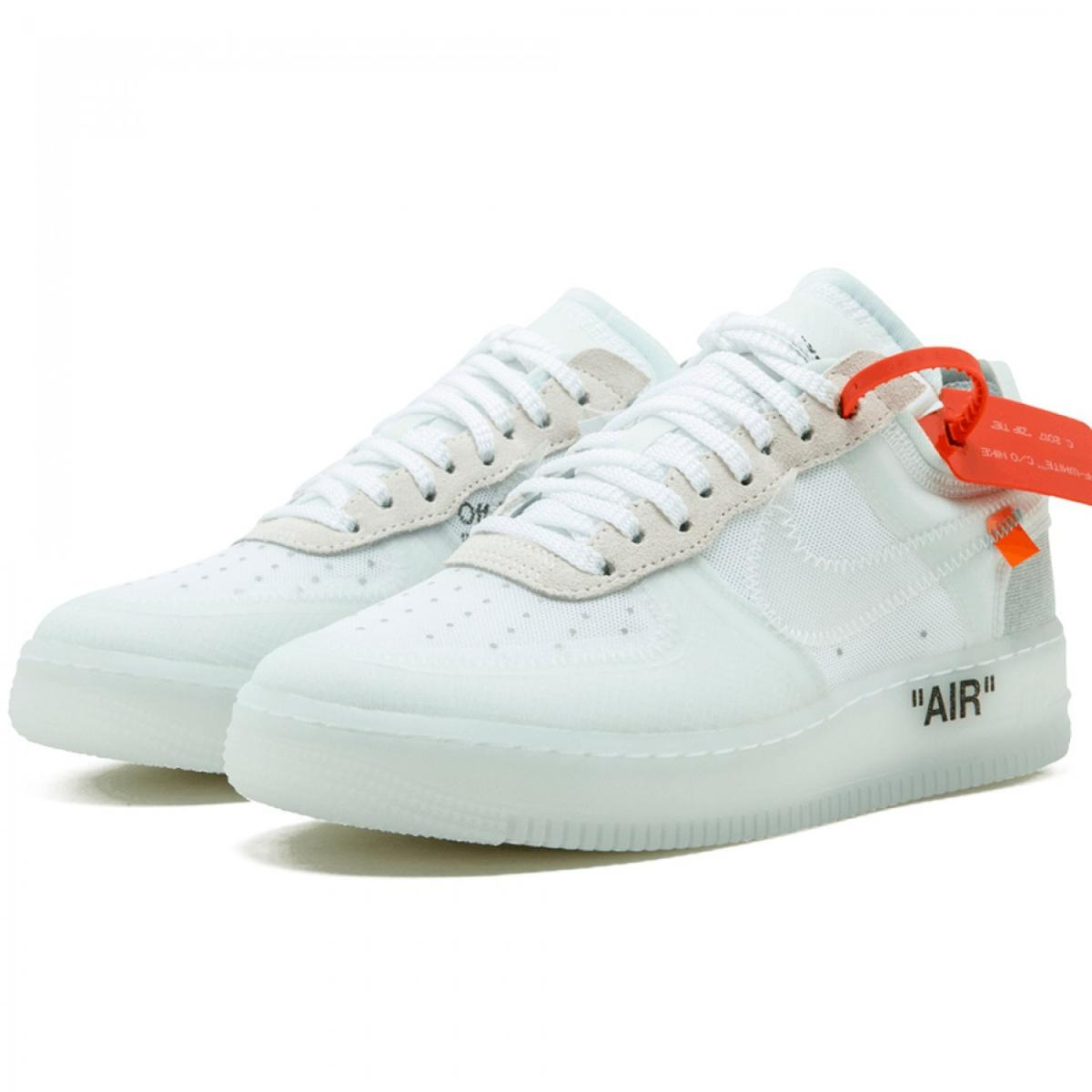Nike x Off White Air Force 1 Low Virgil Abloh in 10777
