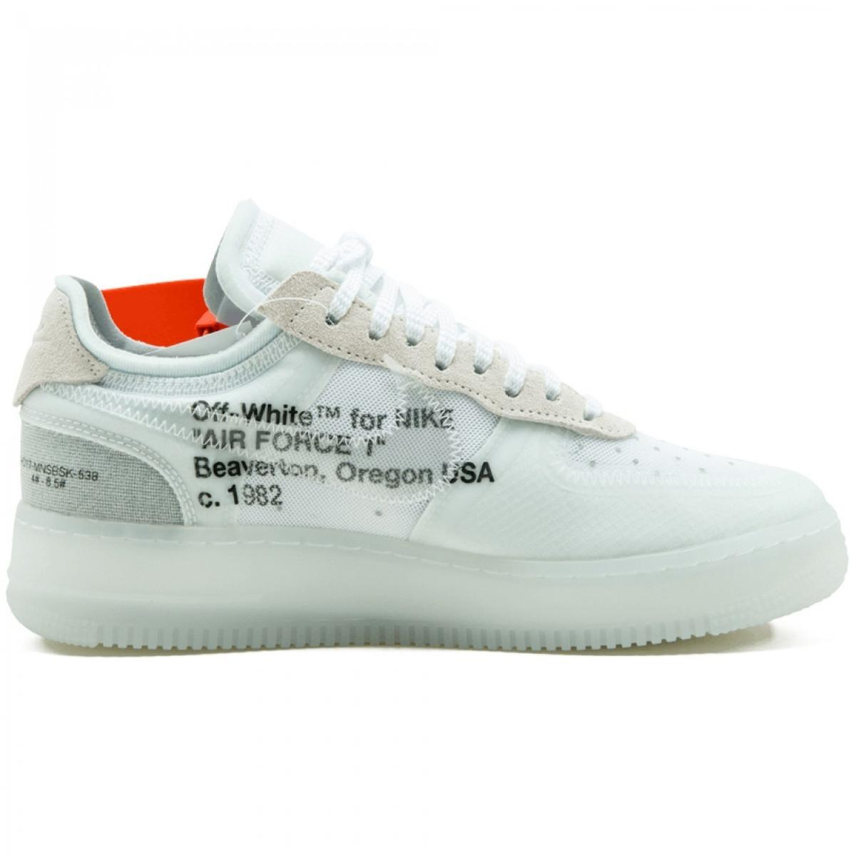 Nike x Off White Air Force 1 Low Virgil Abloh
