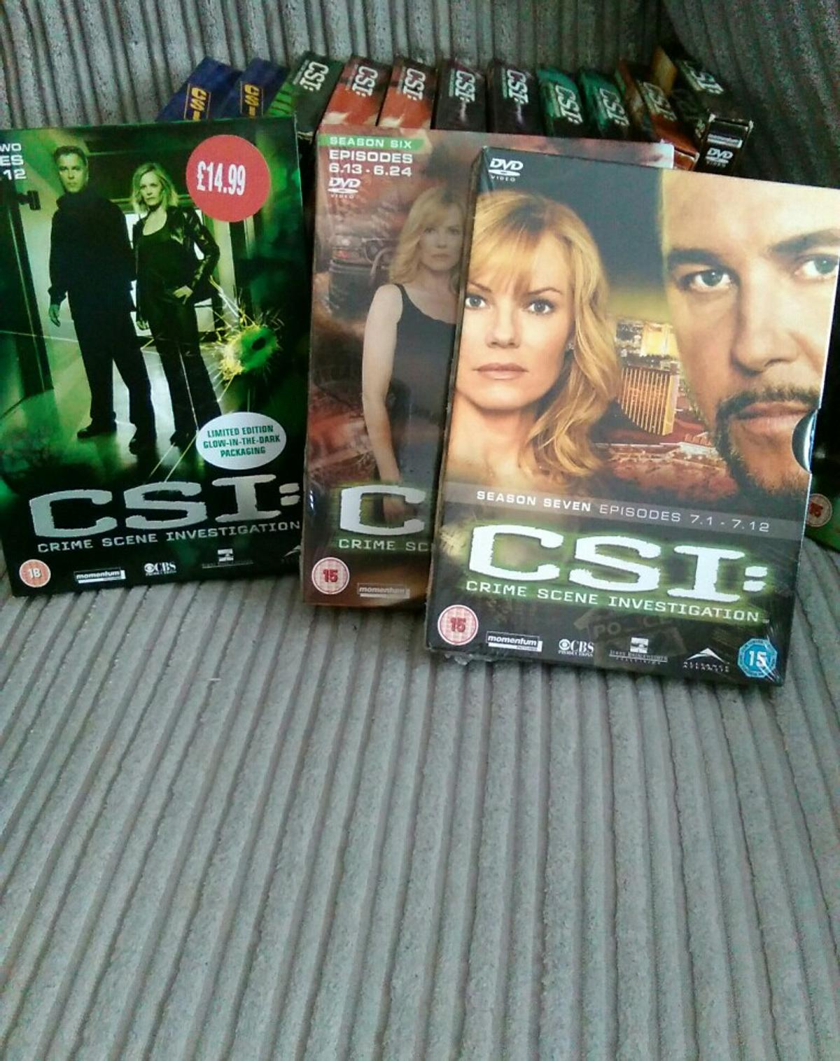 Csi original vegas  DVDS in SS14 Fobbing for £30 00 for sale