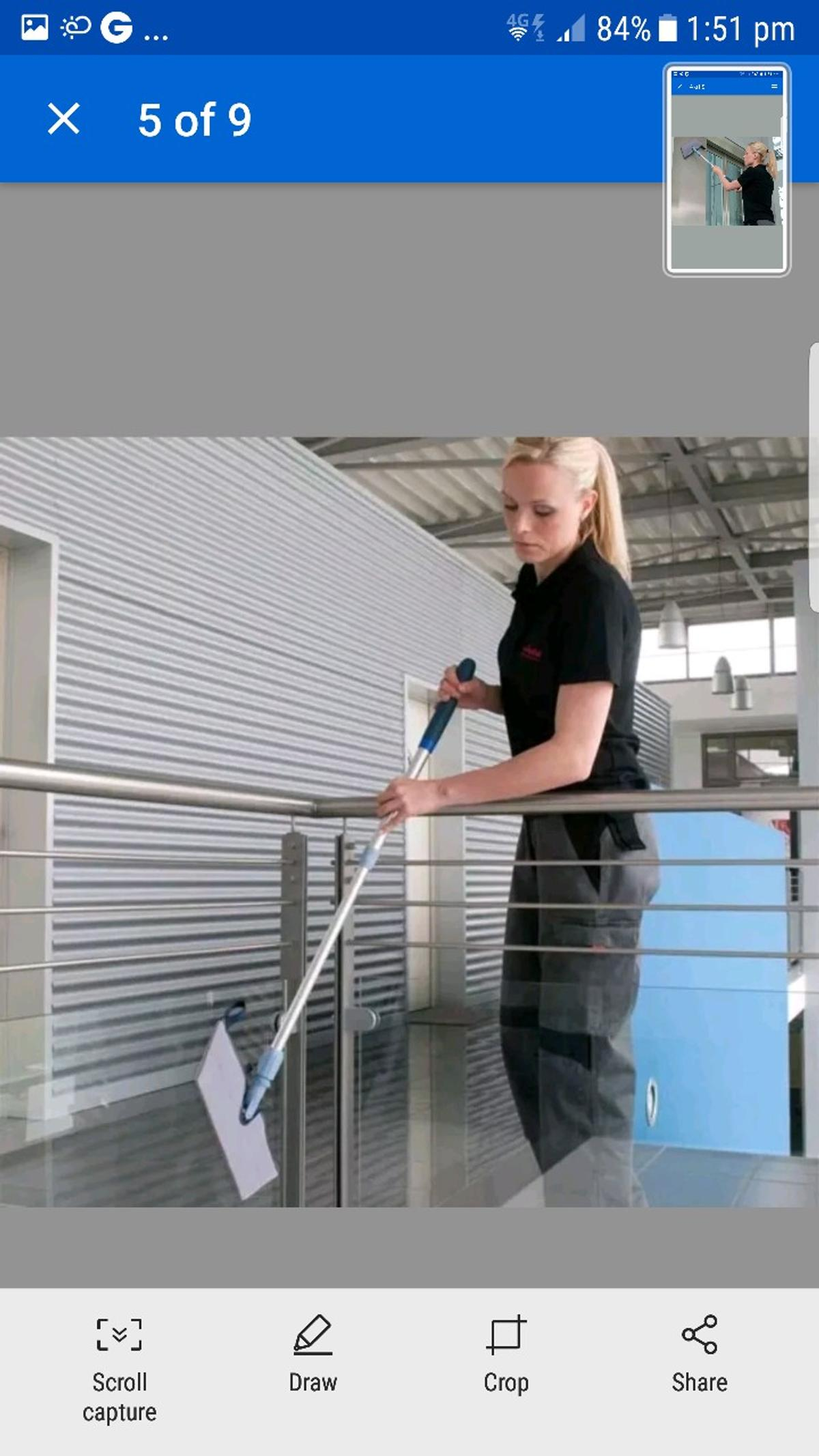 Vileda Professional Interior Cleaning Kit in M16 Manchester