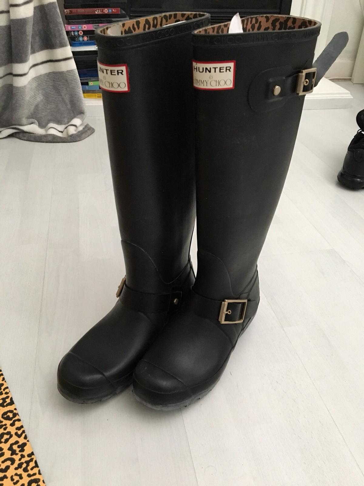 86c2439a995 Jimmy choo x Hunter wellies boots size 6 in B29 Birmingham for ...