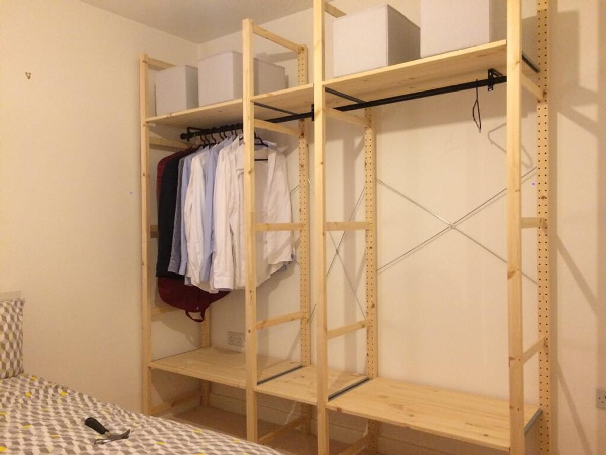 Open Wardrobe Ikea