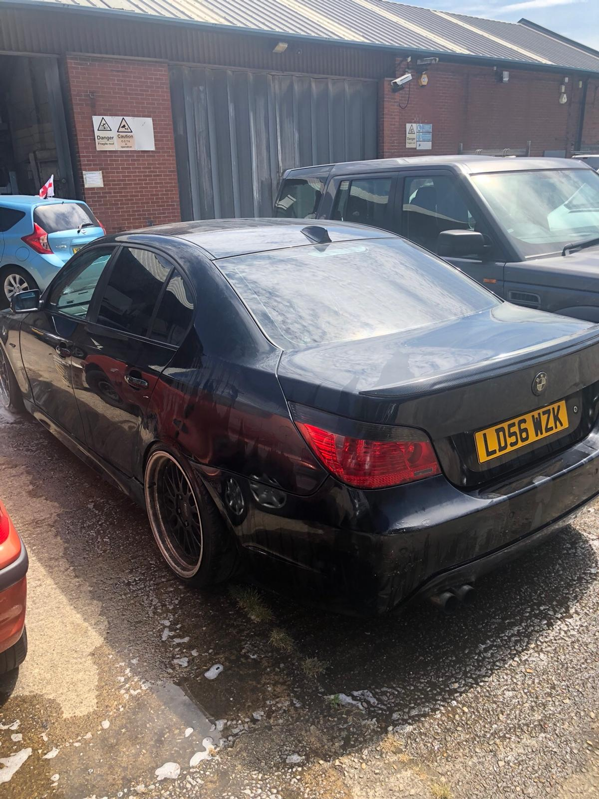 BMW 520d (modified,slammed,lowered,dub,stance in Chesterfield for
