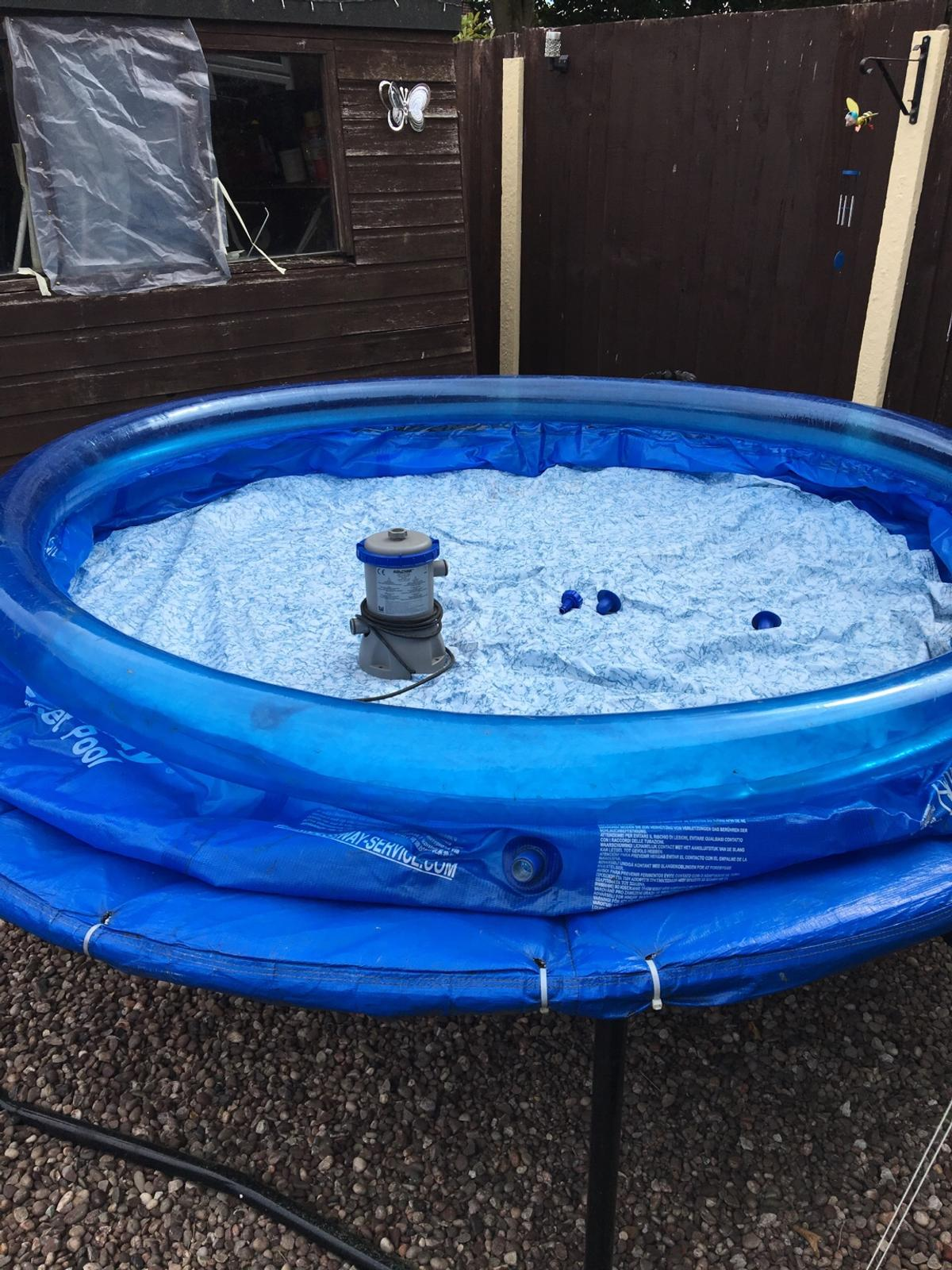 8ft bestway swimming pool and filter in WN4 Wigan for £25.00 for ...