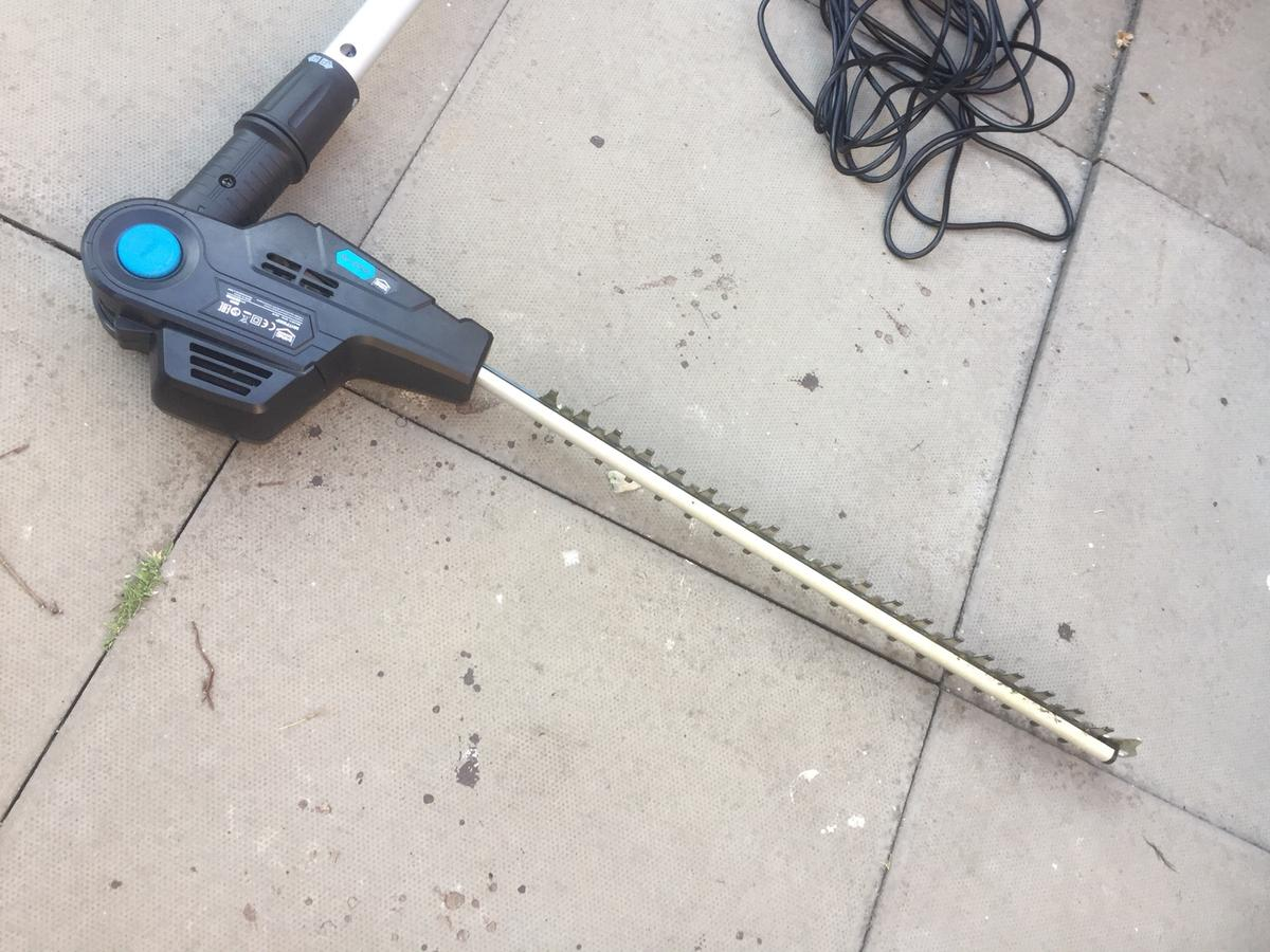 Mac Allister Corded Pole Hedge trimmer in WS2 Walsall for
