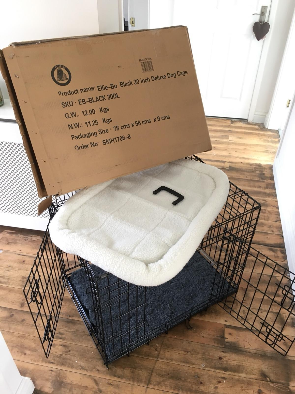Incredible Ellie Bo Dog Crate And Cushion Brand New Machost Co Dining Chair Design Ideas Machostcouk