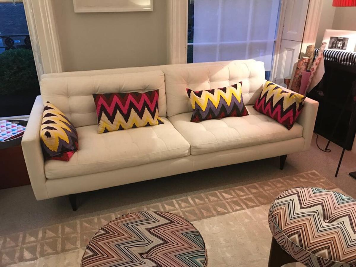 Astounding Cratebarrel Sofa In W9 Westminster For 300 00 For Sale Pabps2019 Chair Design Images Pabps2019Com