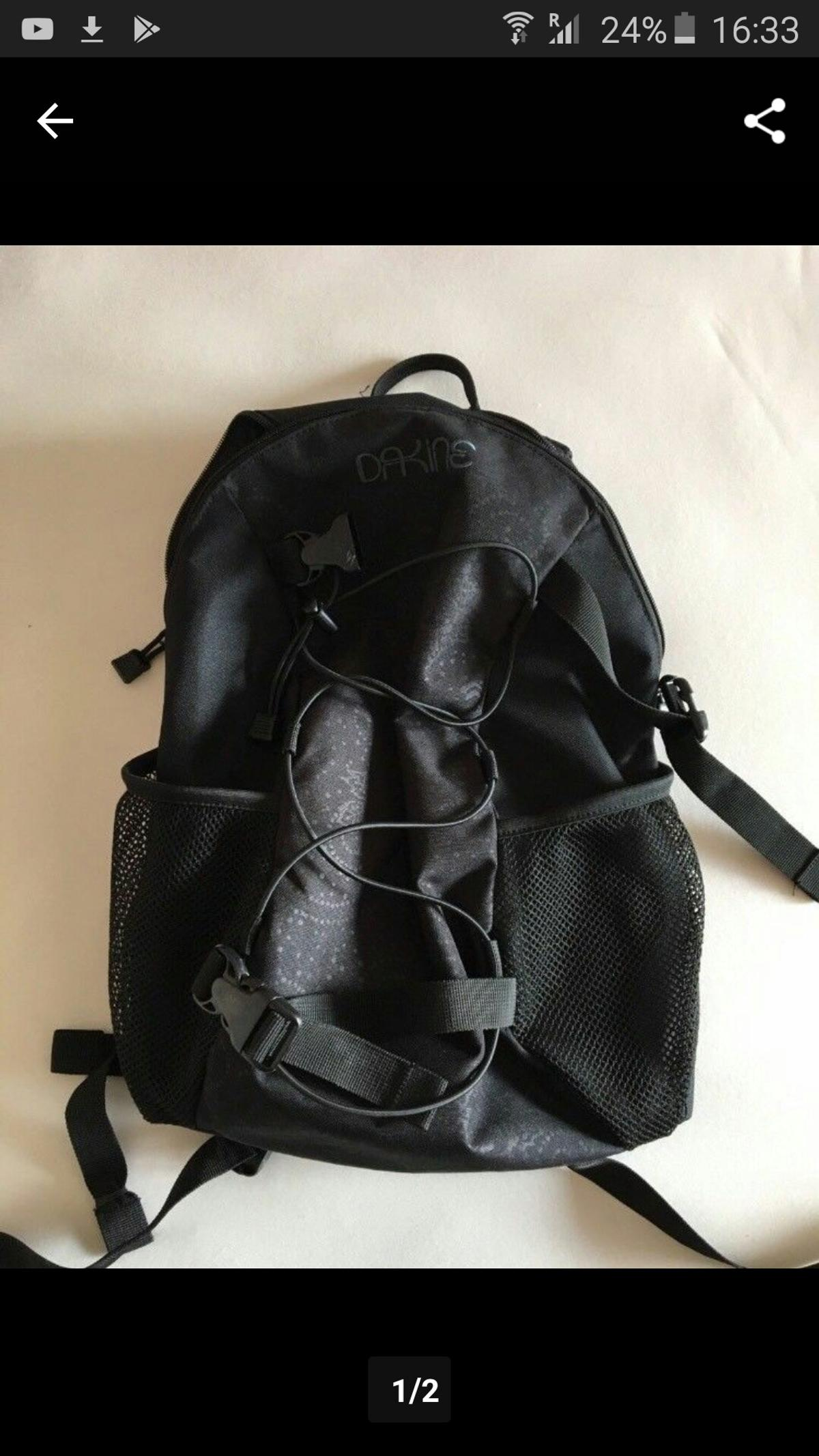 ce7d342b58a3f dakine Rucksack 15 l schwarz in 94032 Thanöd for €22.00 for sale ...