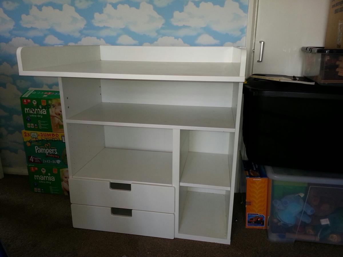 e8873061a0f1 STUVA Changing Table / Desk in B63 Dudley for £25.00 for sale - Shpock