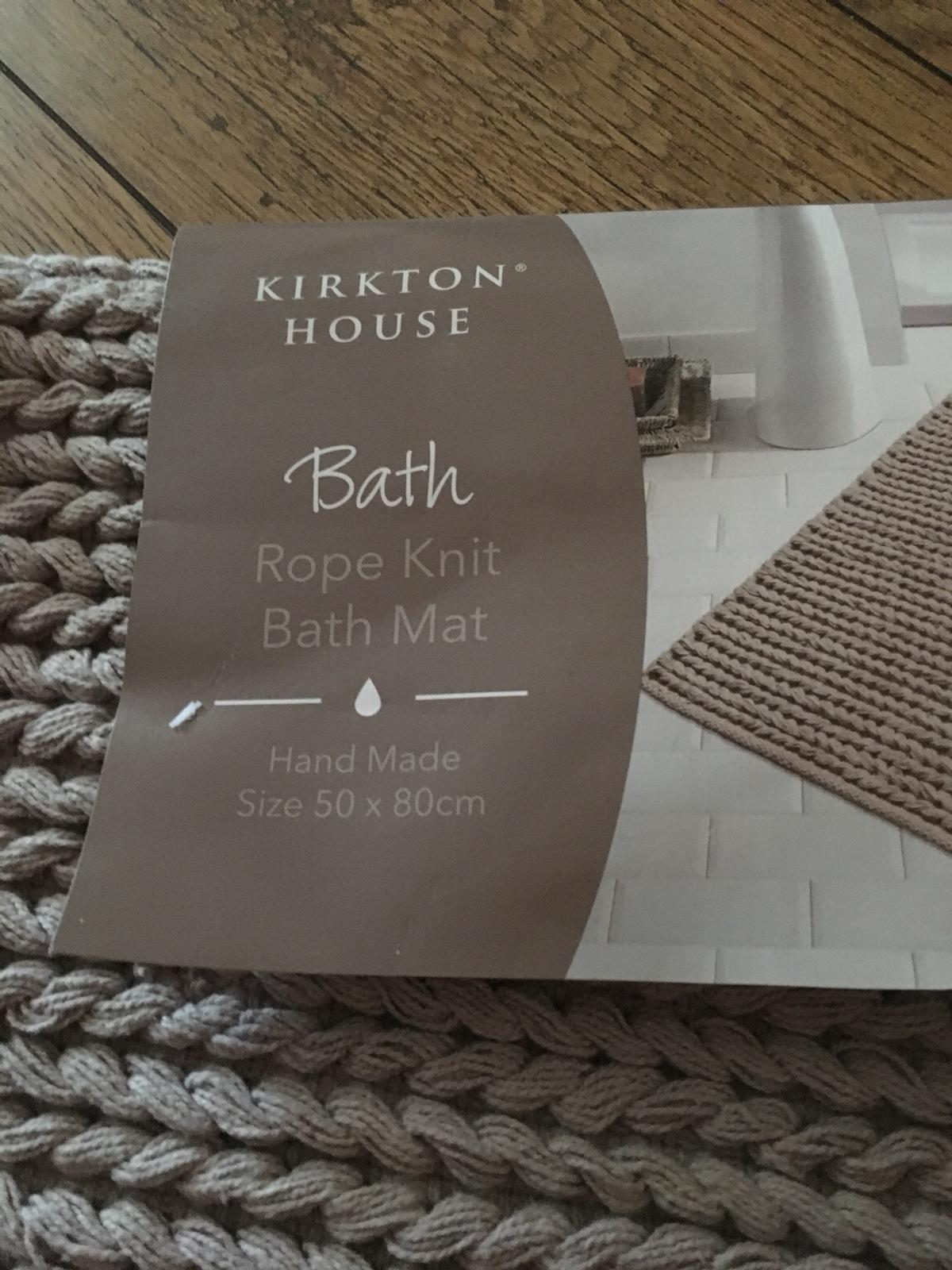 Kirkton House Rope Knit Bath Mat In Ws10 Sandwell For 6 00 For Sale Shpock