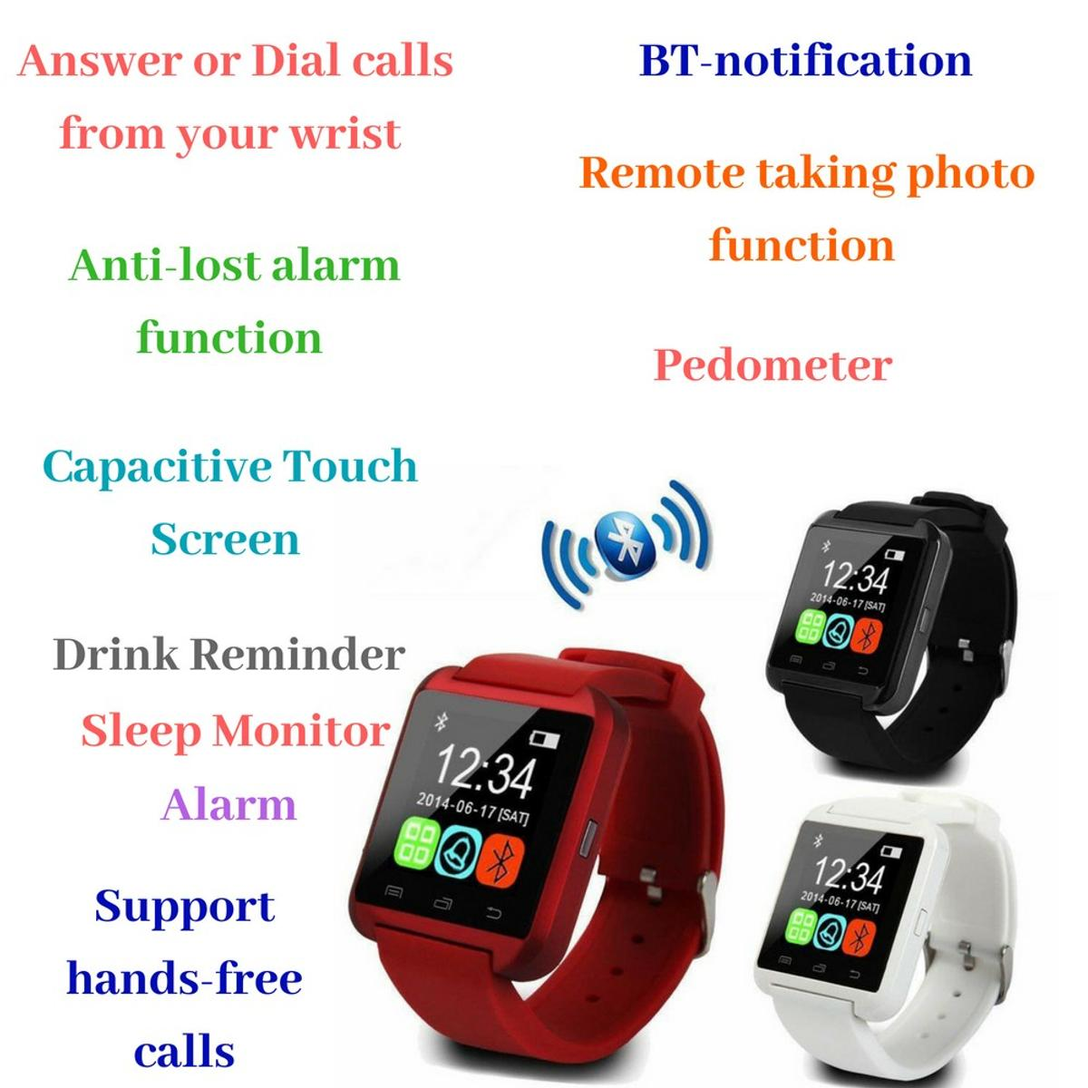 2018 UK Top Selling Bluetooth Smartwatch in B97 Redditch for