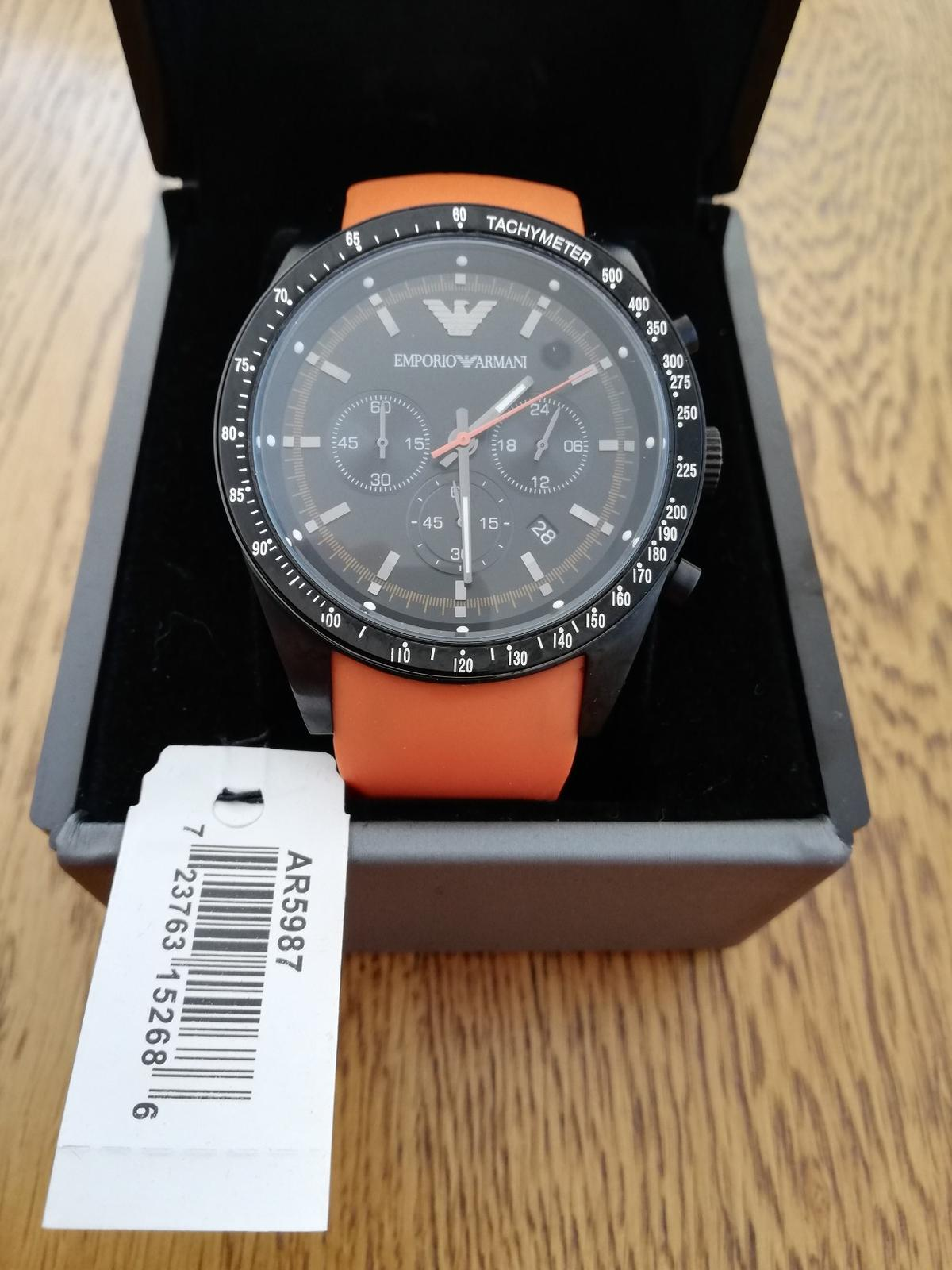 great deals 2017 more photos good looking Emporio Armani AR5987 Tazio like new in WD17 Watford for ...