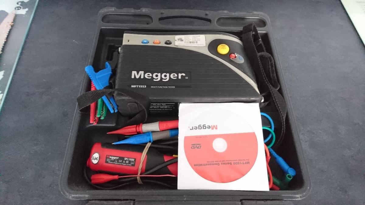 Megger 1553 Multifunction tester in LU2 Wigmore for £95 00 for sale