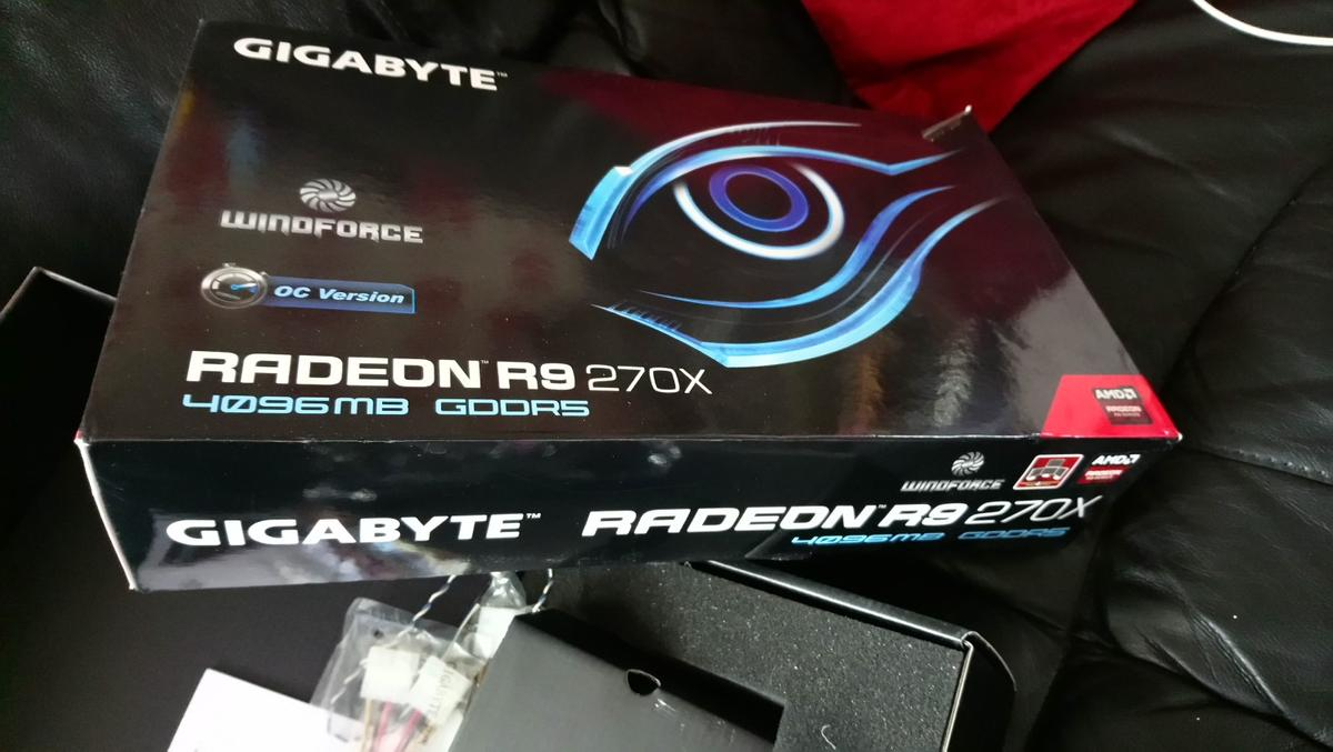 Gigabyte R9 270x 4gb in BD6 Bradford for £70 00 for sale - Shpock