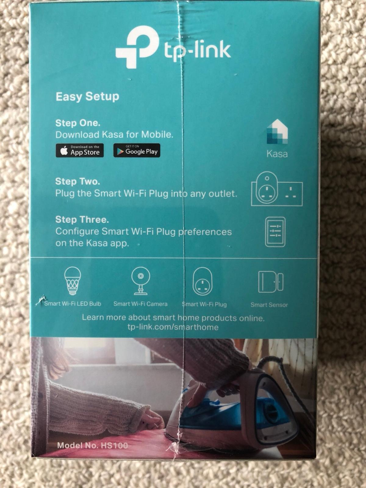 Brand New TP-LINK Wi-Fi Smart Plug (HS100 UK) in DY2 Dudley for