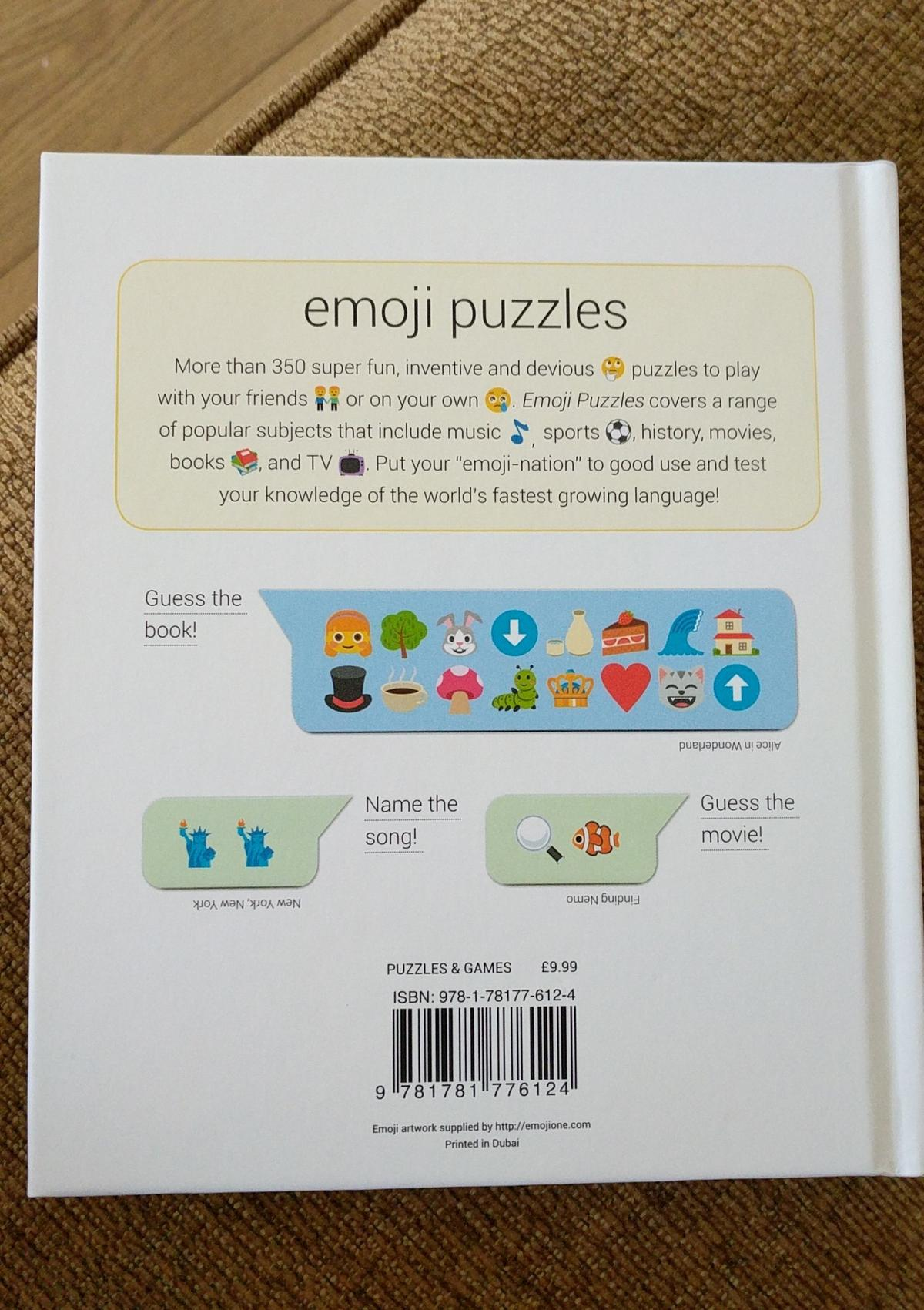 Emoji Puzzle Book in Dudley for £4 00 for sale - Shpock