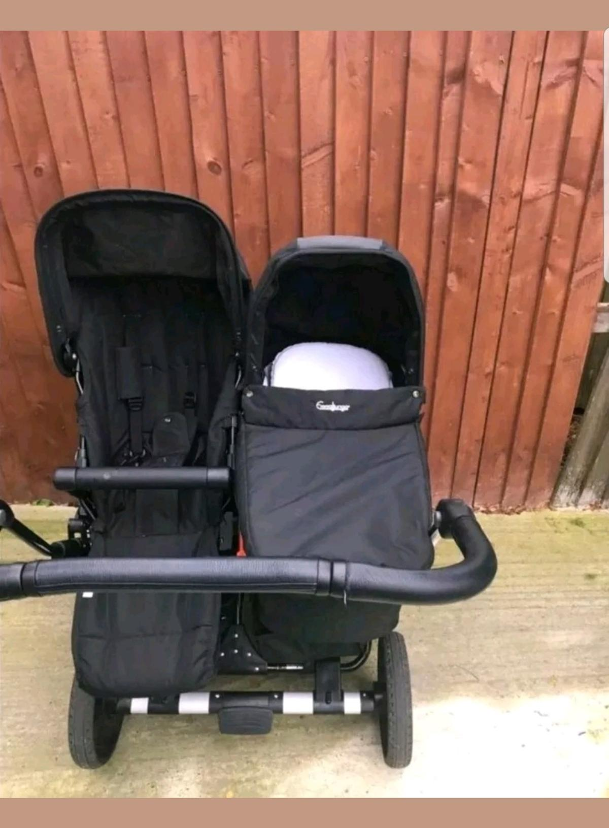 emmaljunga double viking adapter maxi cosi