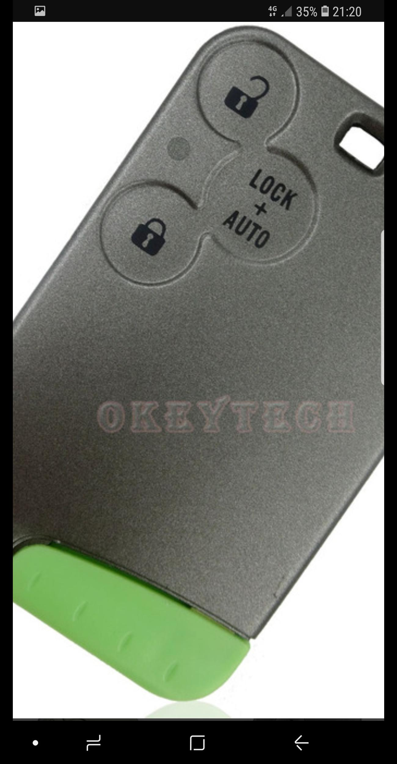 RENAULT KEY CARDS FROM £100  07901602433 in DA7 Kent for £100 00 for