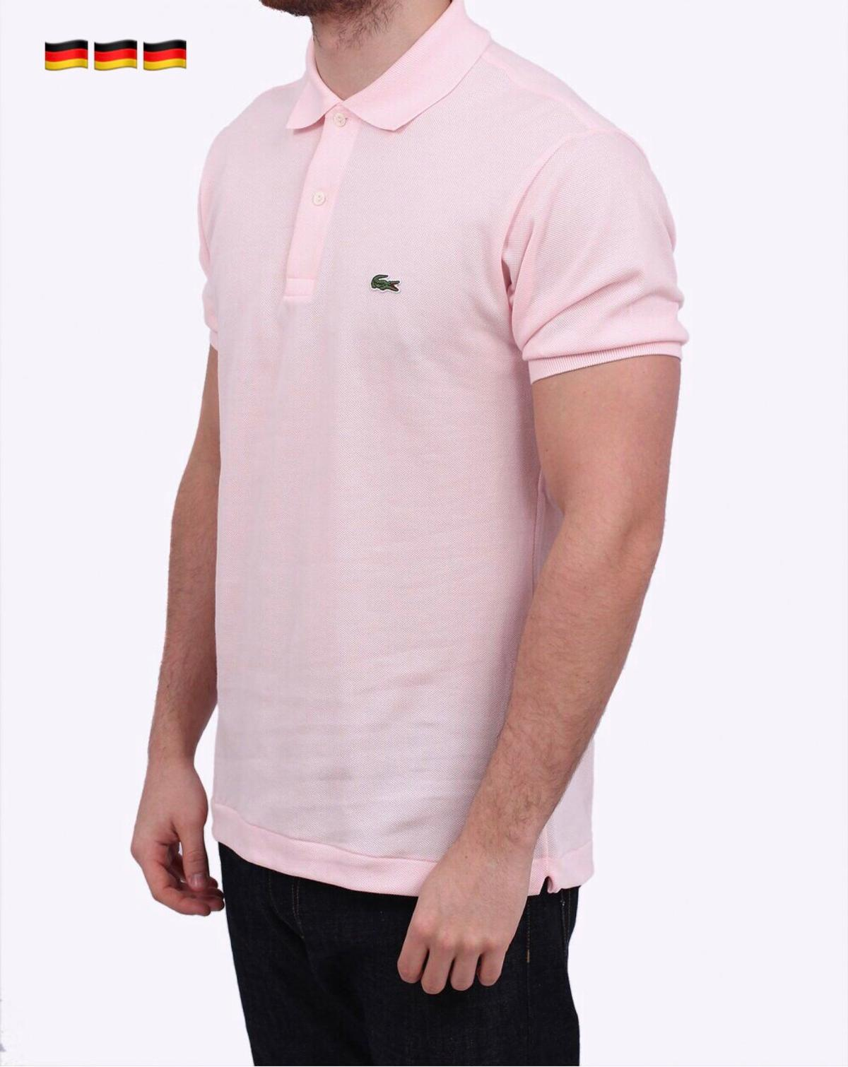check out ab78a 95465 Lacoste Poloshirt Herren Gr. S/3 Pink NEU