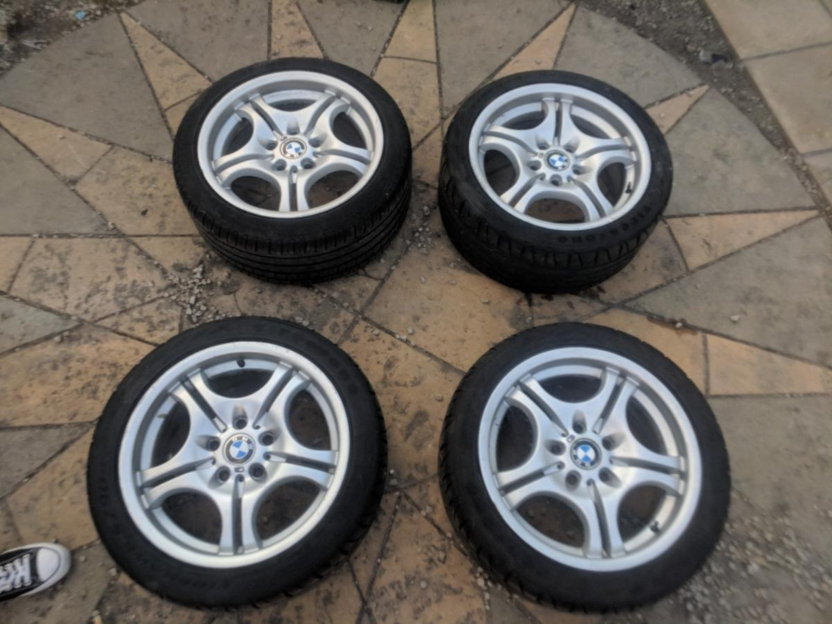 Bmw E46 M Sport Alloy Rim Wheels In Wexham Court For 165 00 For Sale Shpock