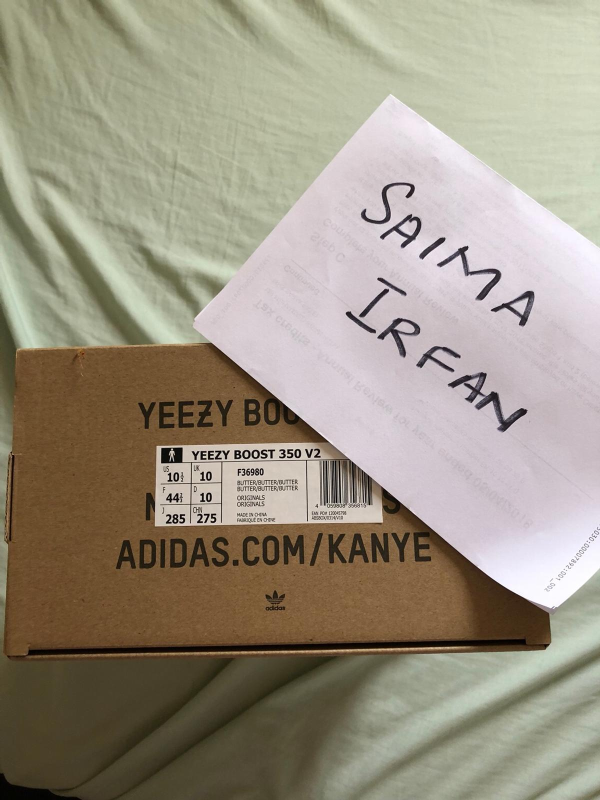 buy online 3004c 8eaa2 Adidas Yeezy Boost 350 V2 Butter Uk size 10 in London ...